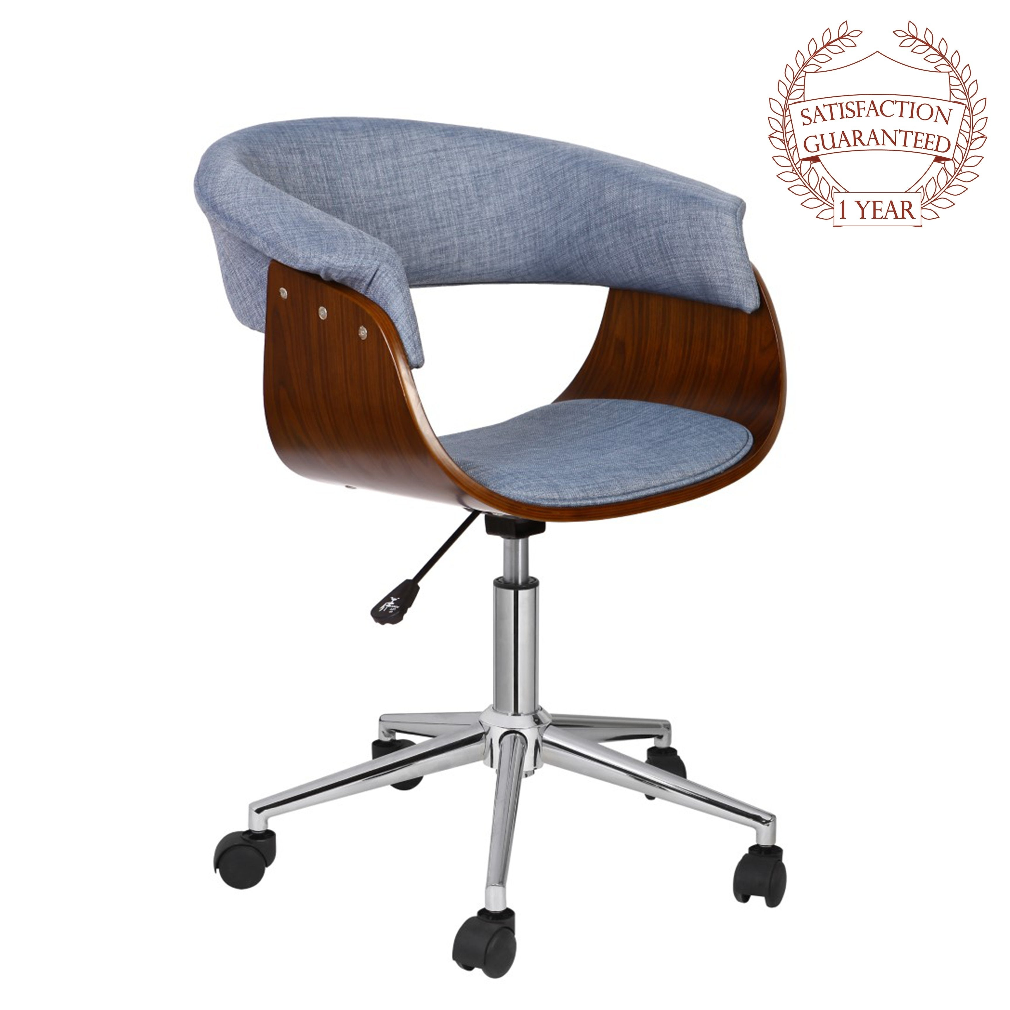 Shop Porthos Home Luxury Bentwood Style Quality Office Chairs With Wheels    On Sale   Free Shipping Today   Overstock.com   22358612