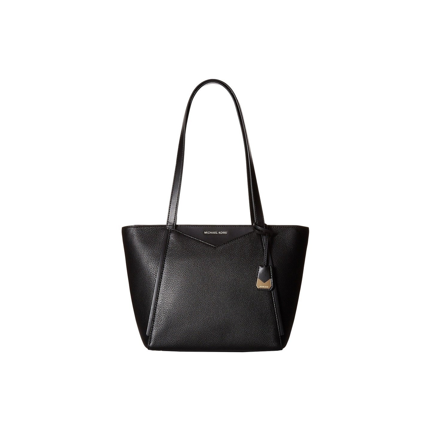 adbf4d071639 ... leather shoulder bag b777d 54f6e official shop michael michael kors  whitney small top zip black tote on sale free shipping today ...