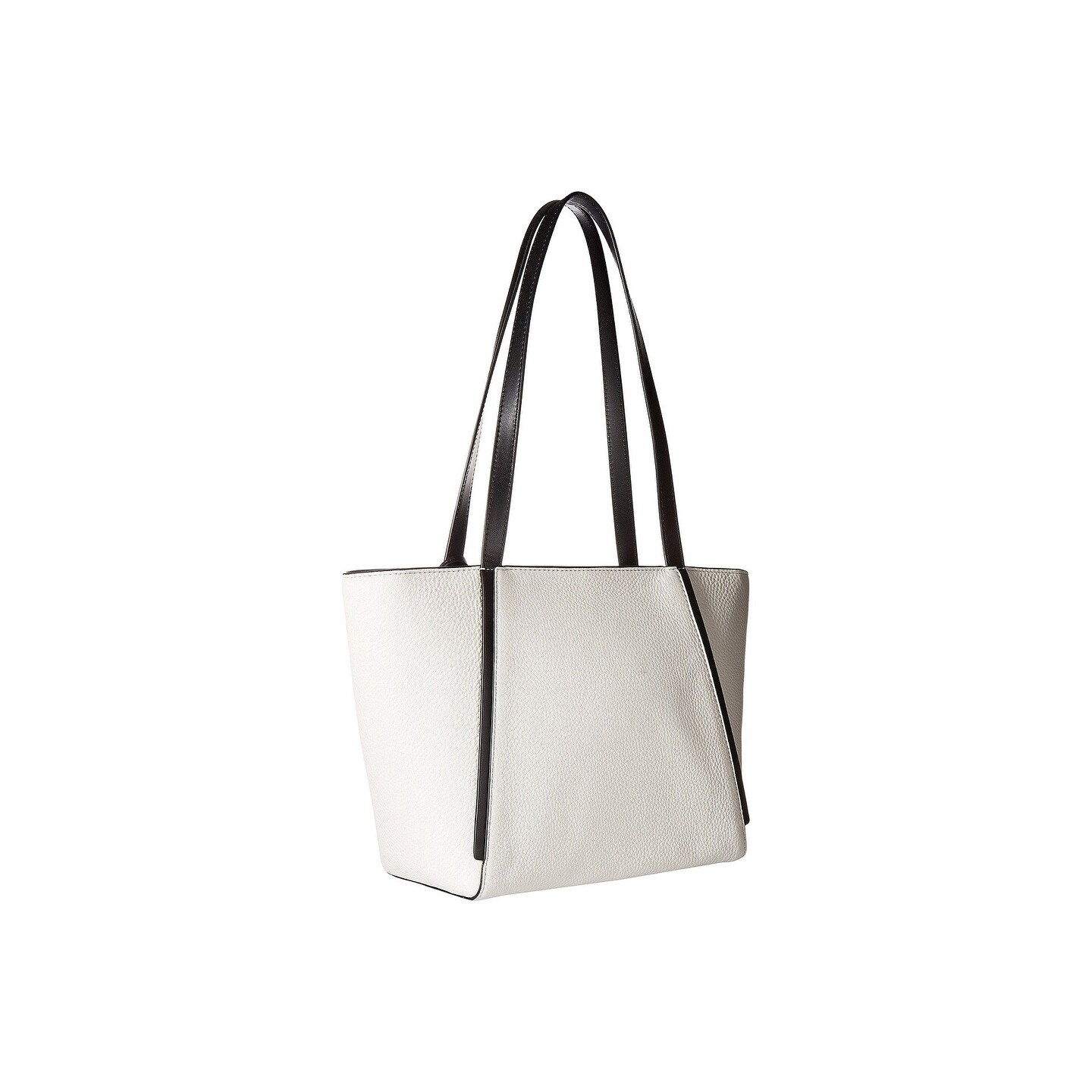 116ce01b275f Shop MICHAEL Michael Kors Whitney Small Top Zip Optic White/Black Tote - On  Sale - Free Shipping Today - Overstock - 22364349