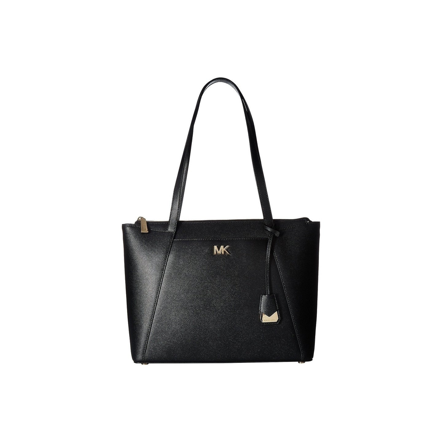 cb02f0d12 Shop MICHAEL Michael Kors Maddie Medium Top Zip Black Tote - On Sale - Free  Shipping Today - Overstock - 22364946