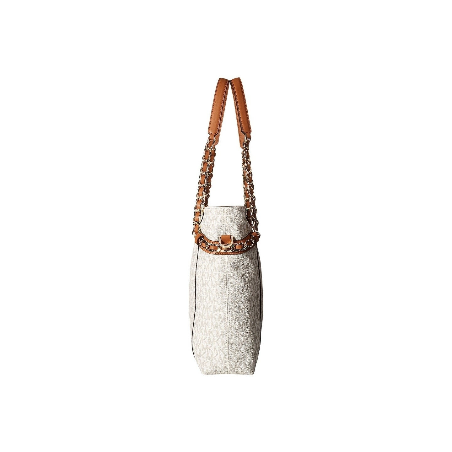95d1f8daef75 Shop MICHAEL Michael Kors Remy Vanilla Medium Shoulder Tote - Free Shipping  Today - Overstock - 22365268
