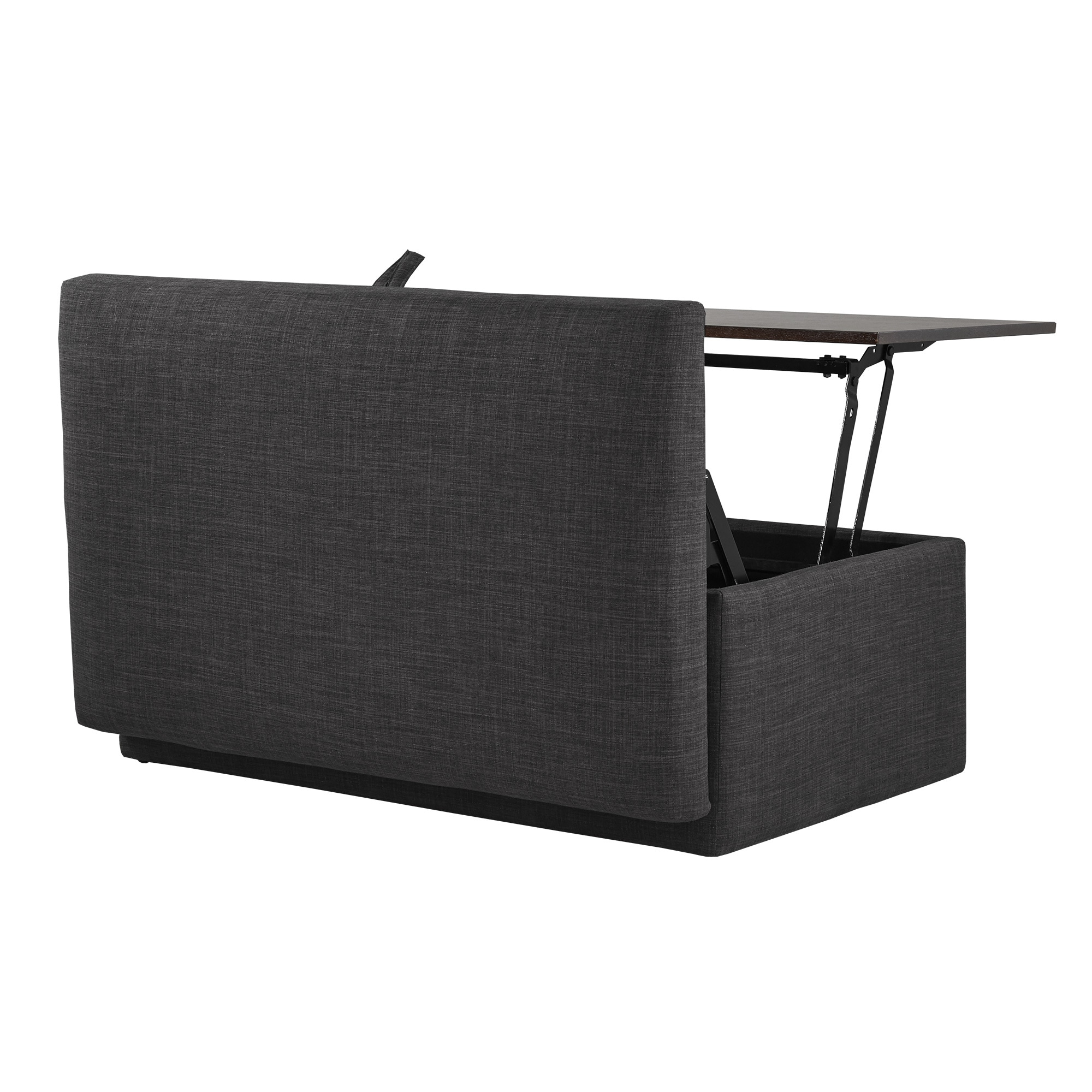 Shop Landen Lift Top Upholstered Storage Ottoman Coffee Table By