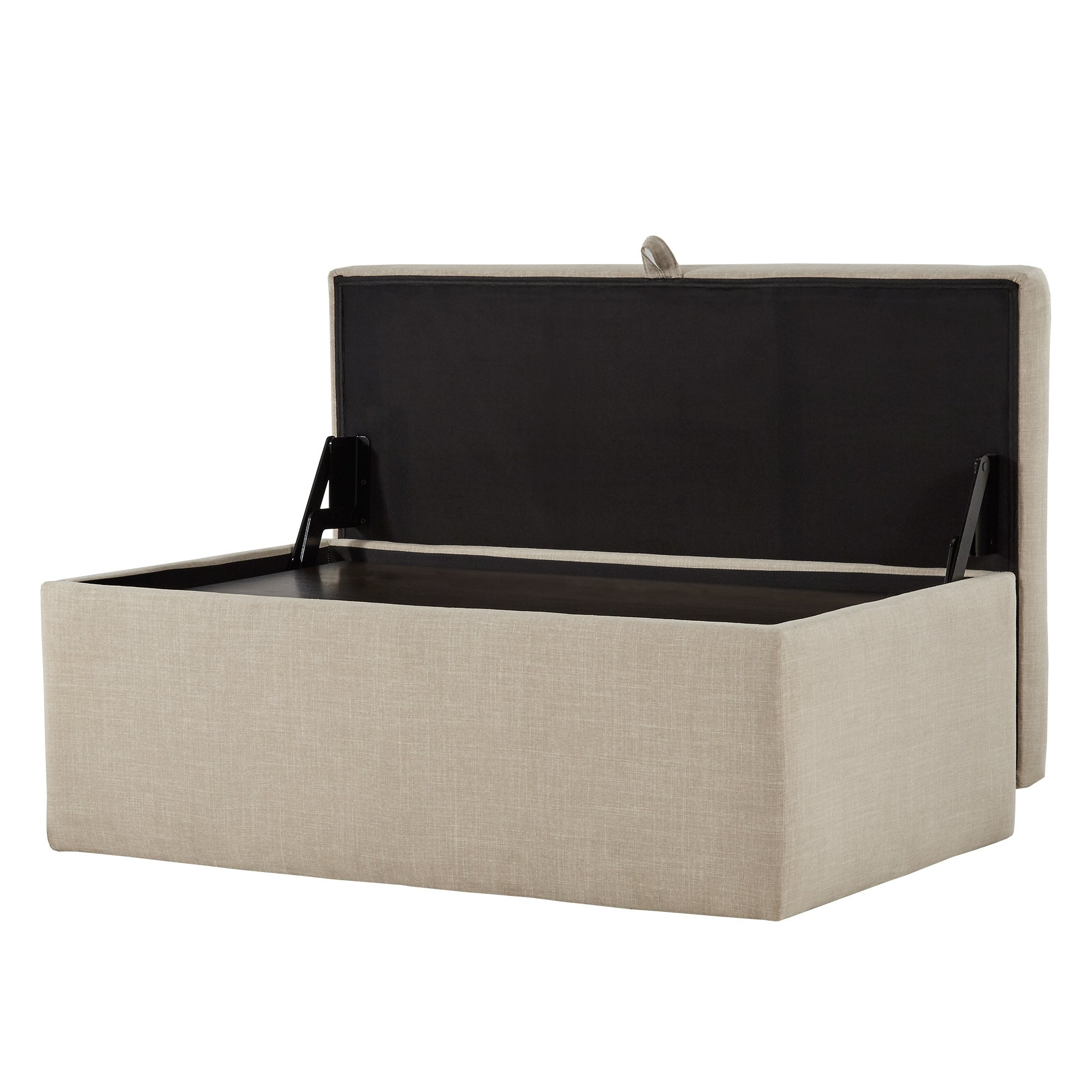 Landen Lift Top Upholstered Storage Ottoman Coffee Table By Inspire Q On Free Shipping Today 22377961