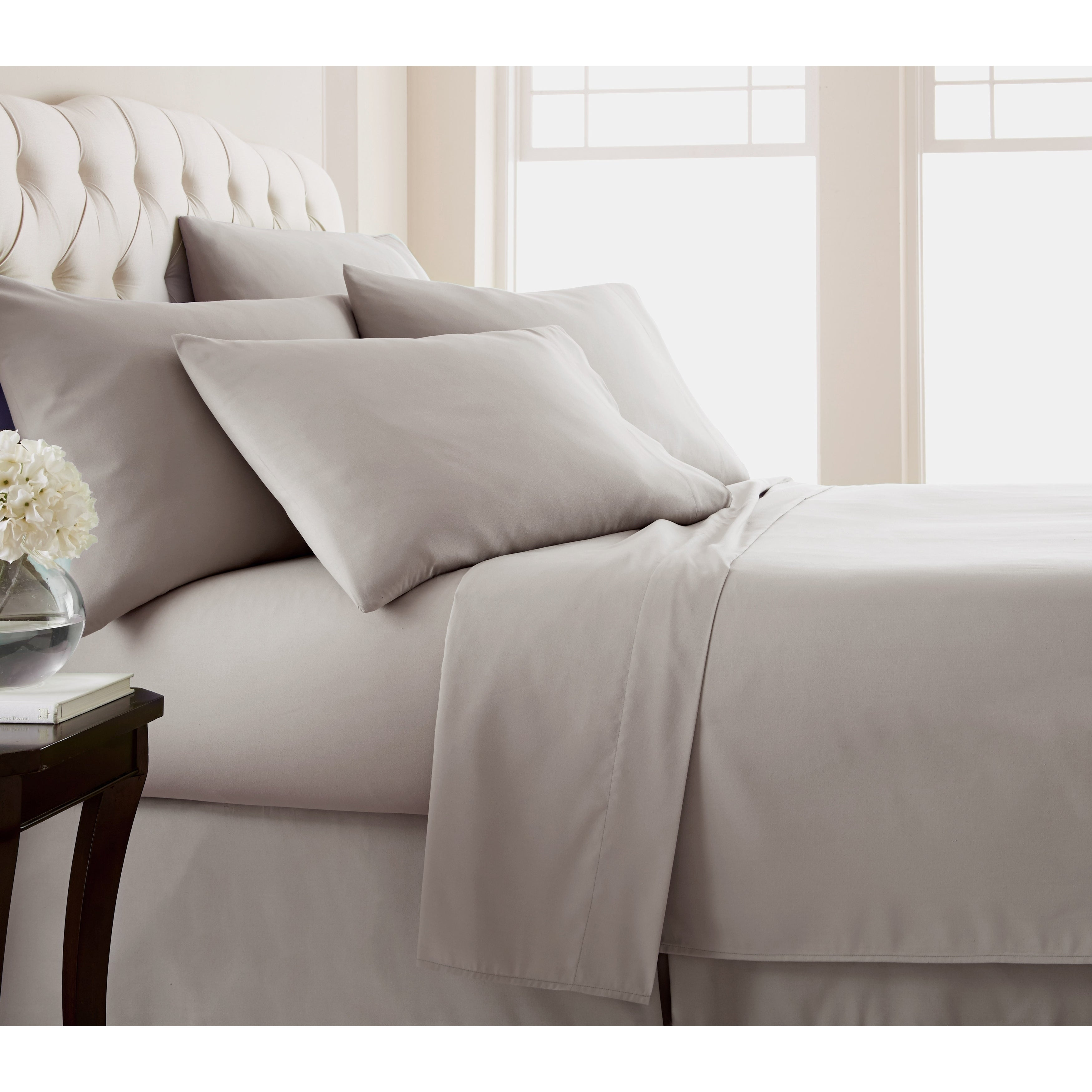 Adjule Mattress Split King Sheet Set Extra Soft And Comfortable On Free Shipping Today 22379480