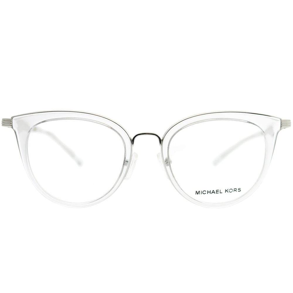 71ccaa897e994 Shop Michael Kors Round MK 3026 Aruba 3050 Woman Silver Frame Eyeglasses -  Free Shipping Today - Overstock - 22391820