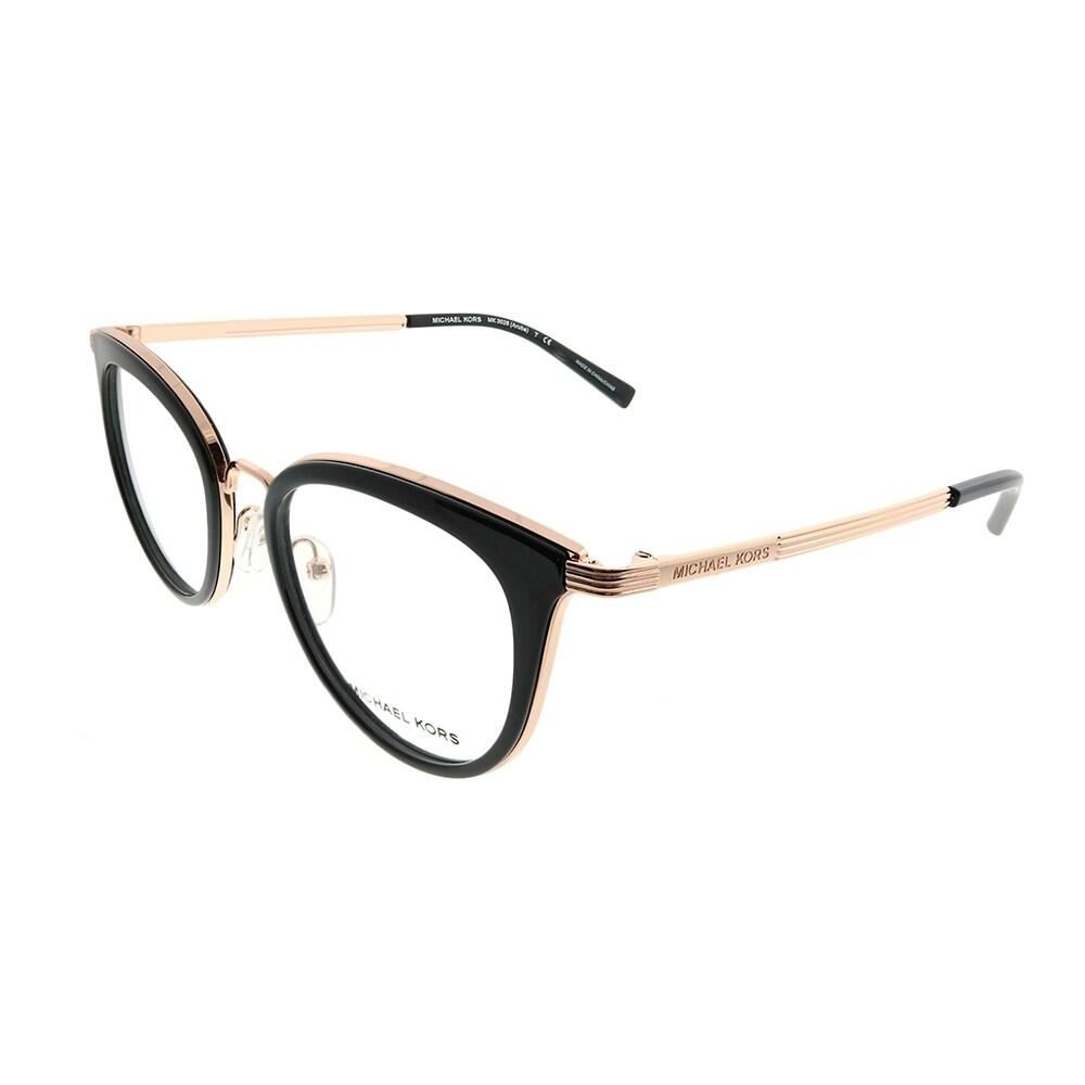 f4829e7400a4 Michael Kors Round MK 3026 Aruba 3332 Woman Rose Gold Frame Eyeglasses