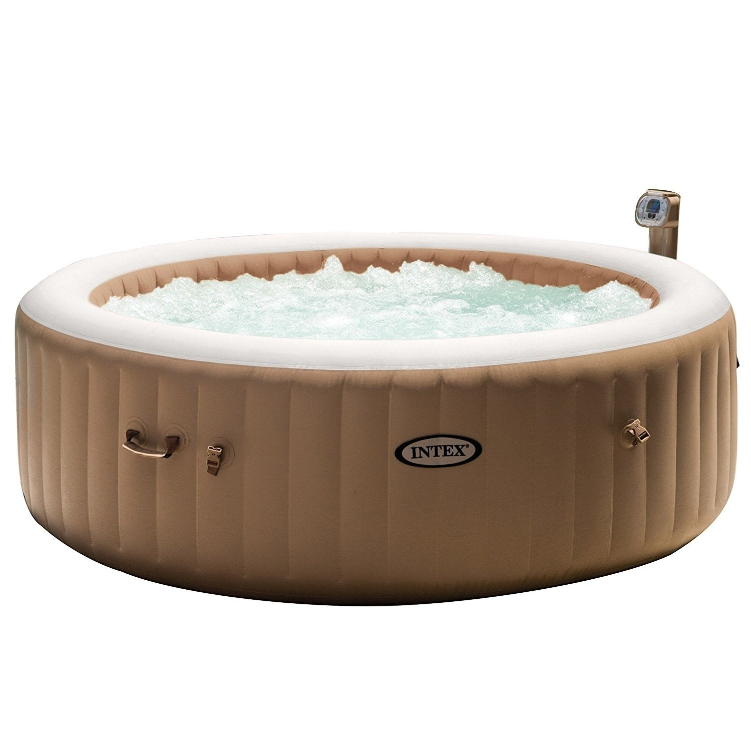 Shop Inflatable Pure Spa 6-Person Heated Bubble Jet Hot Tub - Free ...