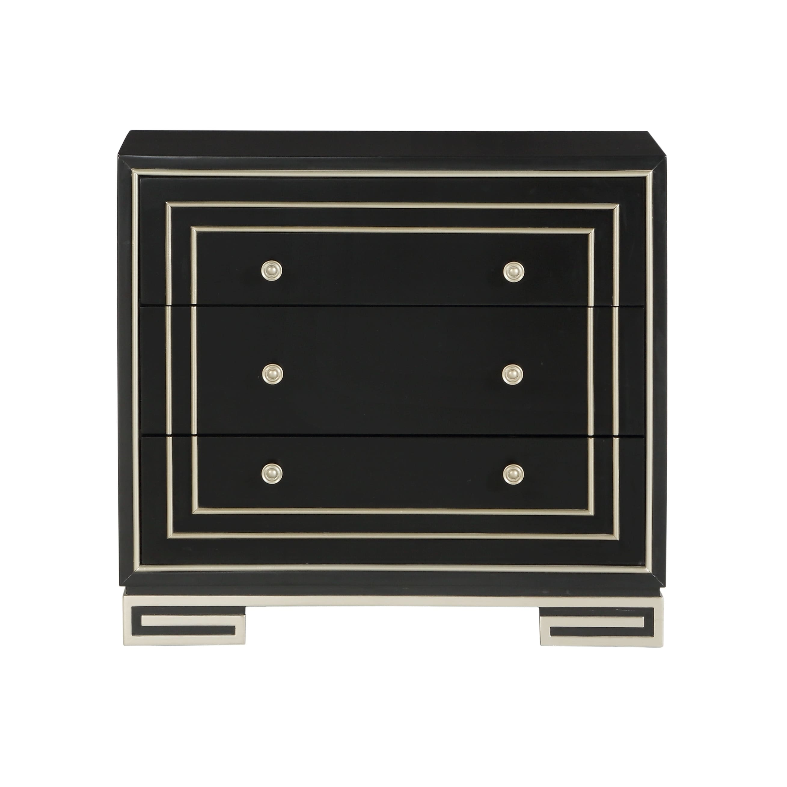 Treasure Trove Bliss Black Small 3 Drawer Chest Free Shipping Today 22392763