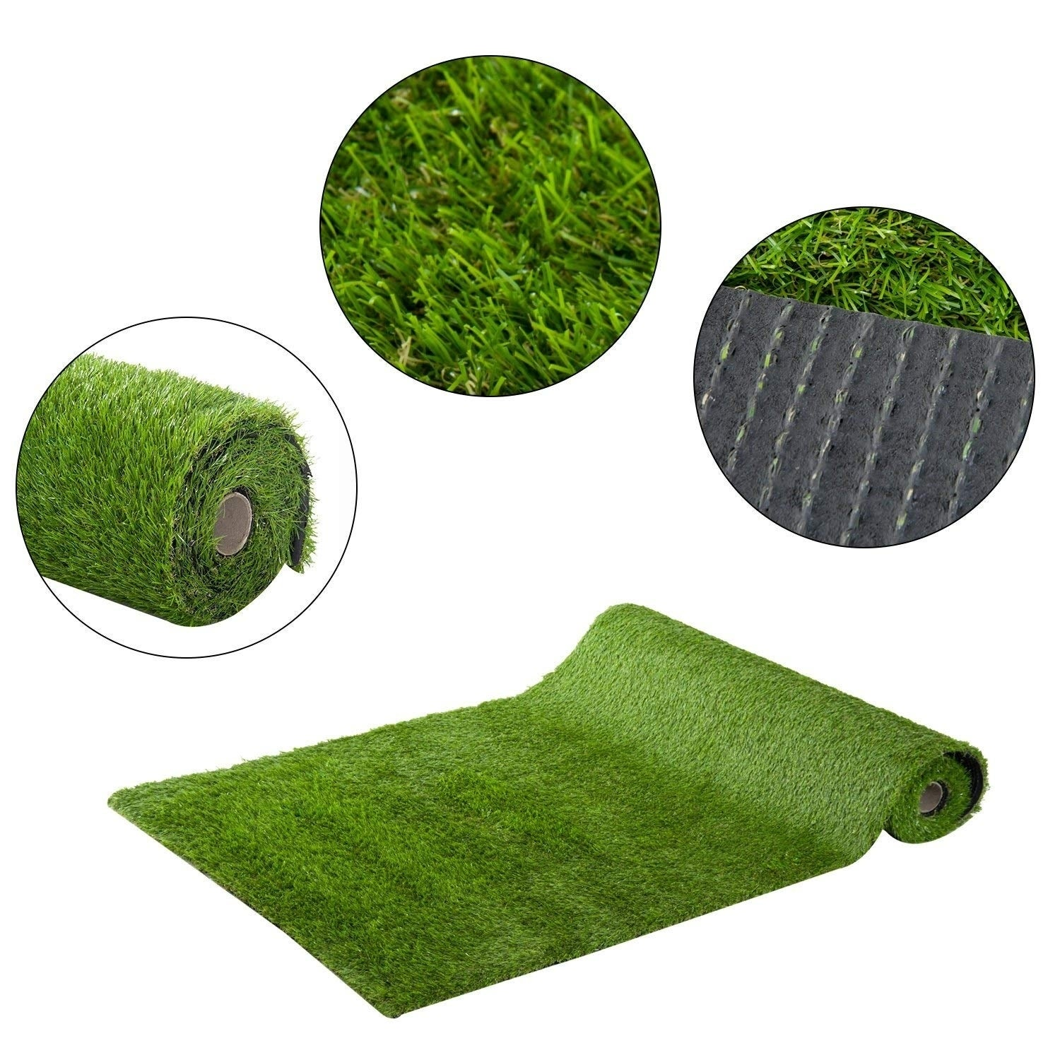 Shop Outsunny Realistic Synthetic Indoor Outdoor Artificial Turf