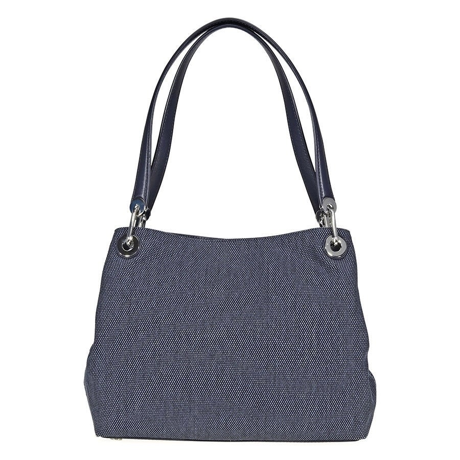2e02b5e719d3 Shop MICHAEL Michael Kors Raven Large Admiral Blue Shoulder Tote - Free  Shipping Today - Overstock - 22404618