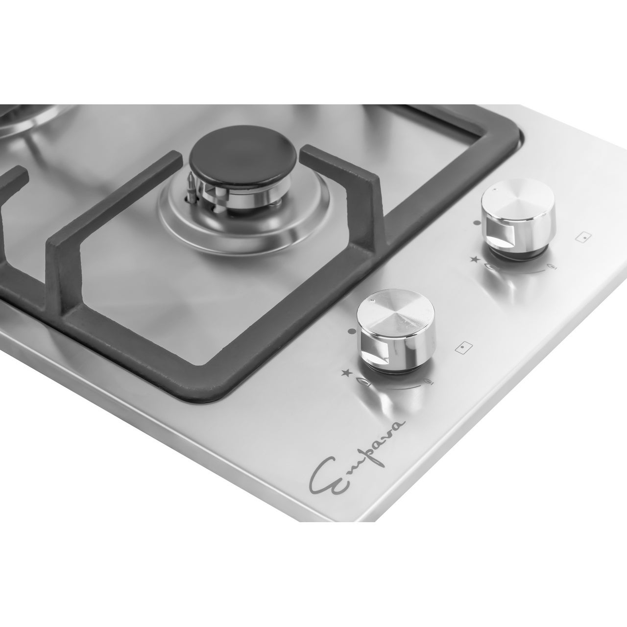Empava 12 Stainless Steel 2 Italy Sabaf Burners Stove Top Gas Cooktop Free Shipping Today 22469063
