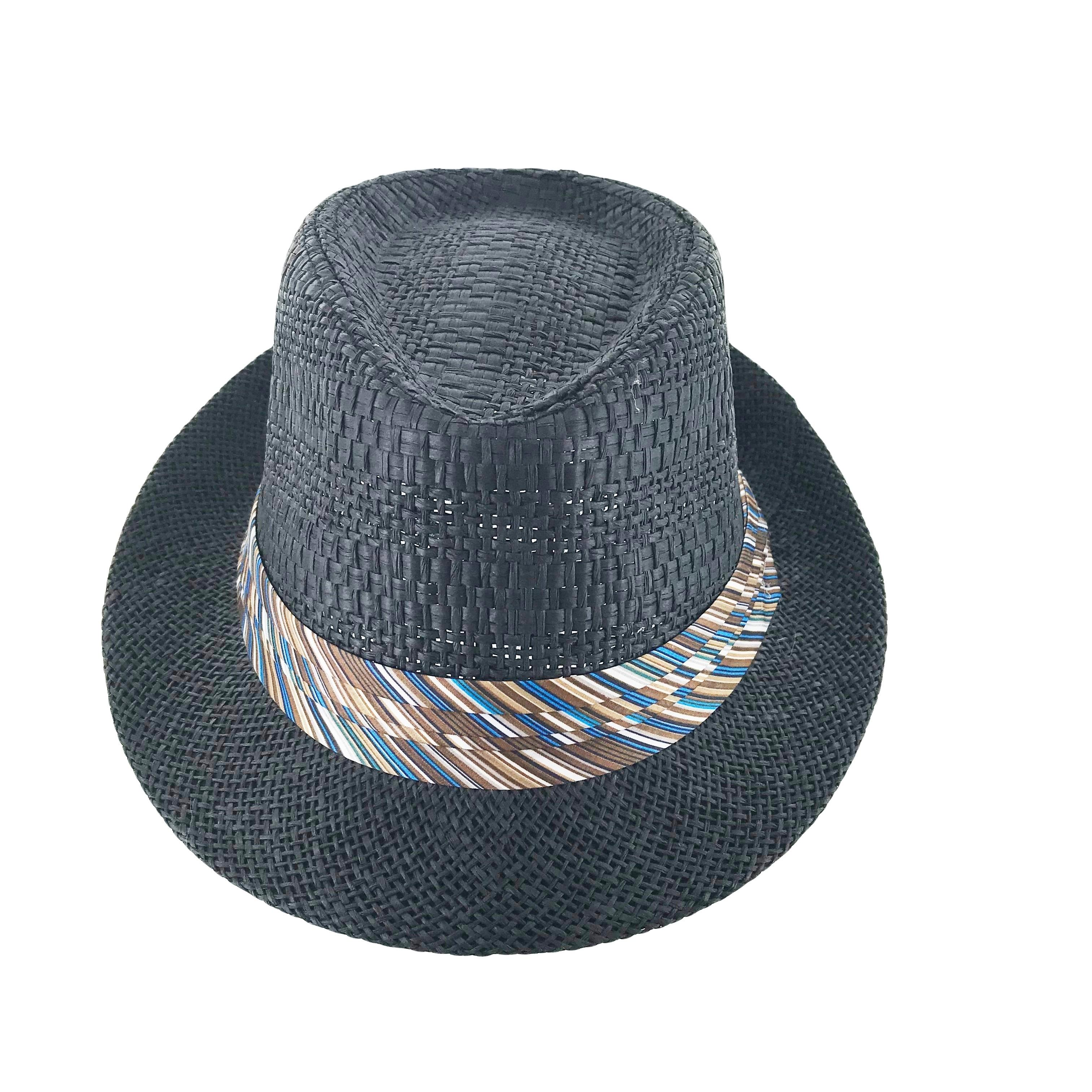 ea7b88df101 Shop Faddism Festiva Cuban Style Short Brim Fedora Straw Hat - Free  Shipping On Orders Over  45 - Overstock - 22492146