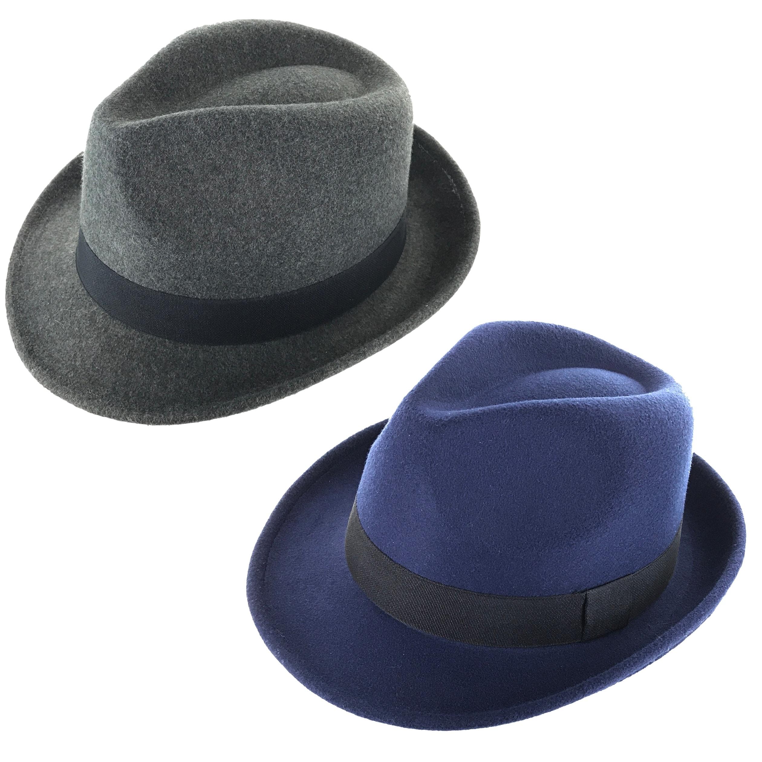 Shop Faddism Classic Velvet Cuban Style Short Brim Fedora Hat - Free ... e9be0cfd122