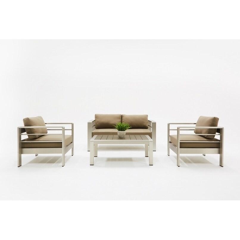 Remarkable Renava Solana Outdoor Grey Sofa Set Alphanode Cool Chair Designs And Ideas Alphanodeonline