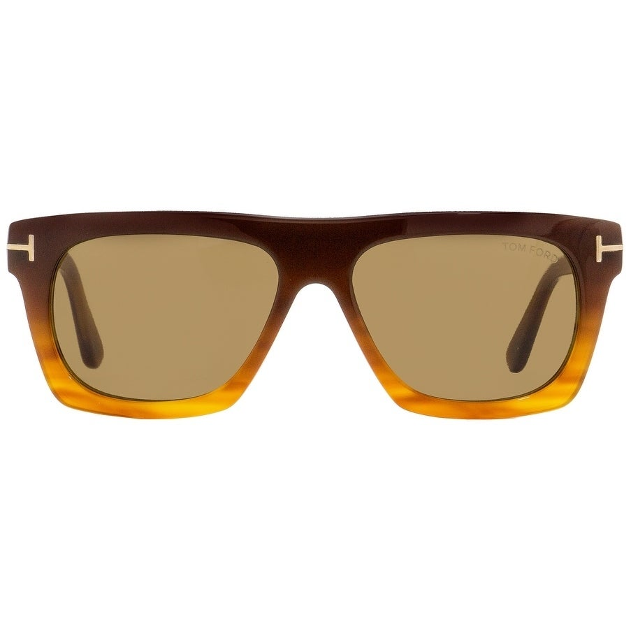 da9c4226119 Shop Tom Ford TF592 Ernesto-02 50E Unisex Brown Blonde Havana 55 mm  Sunglasses - brown blonde havana - Free Shipping Today - Overstock -  22513918