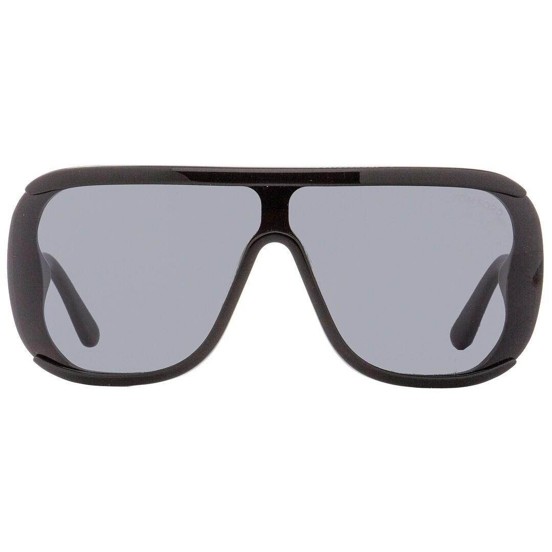 92dc8e23f4 Shop Tom Ford TF559 Porfirio-02 01A Unisex Shiny Black Gold 0 mm Sunglasses  - shiny black gold - Free Shipping Today - Overstock - 22514353