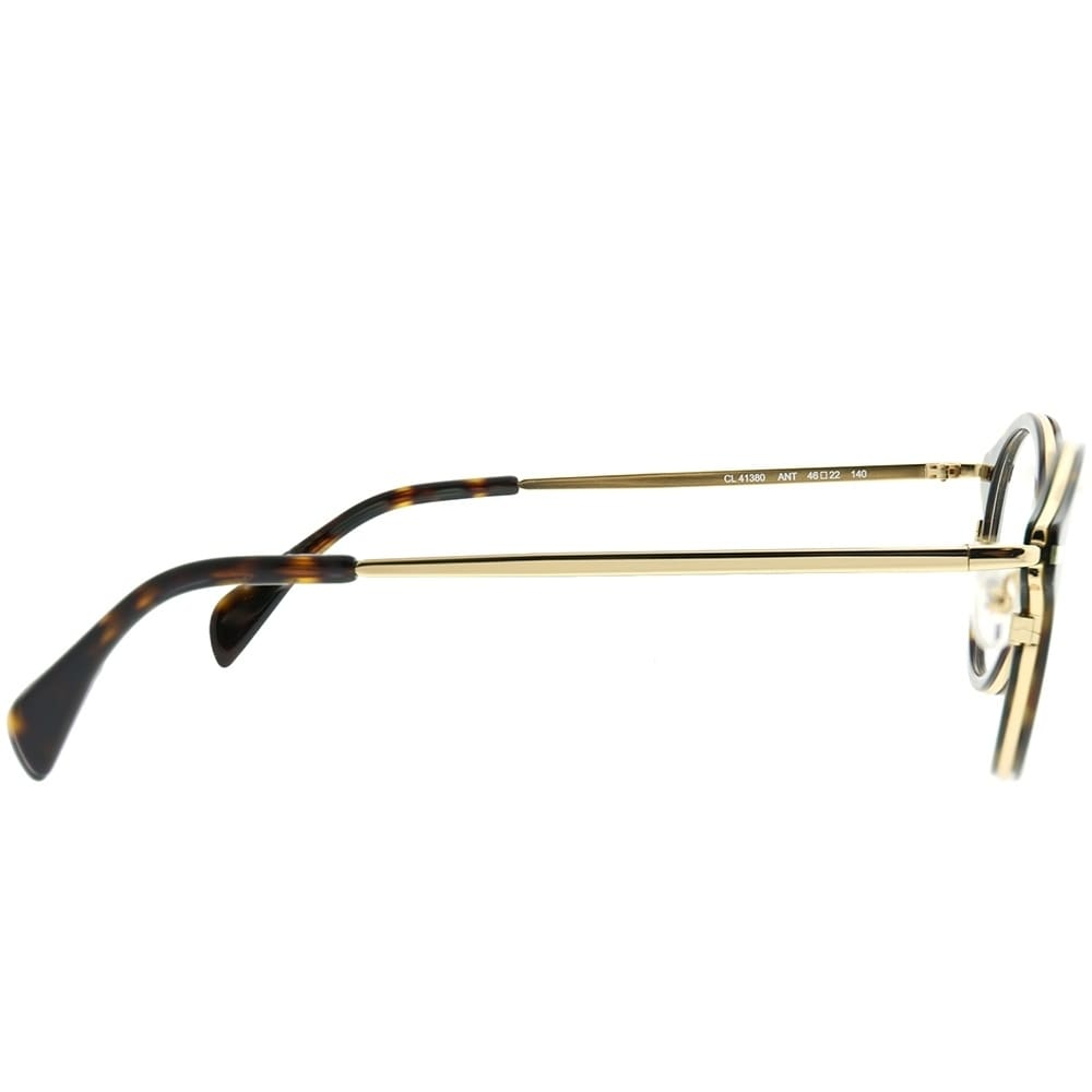 5fcceec8ae74 Shop Celine Round CL 41380 Joe ANW Unisex Black Gold Frame Eyeglasses -  Free Shipping Today - Overstock - 22519937