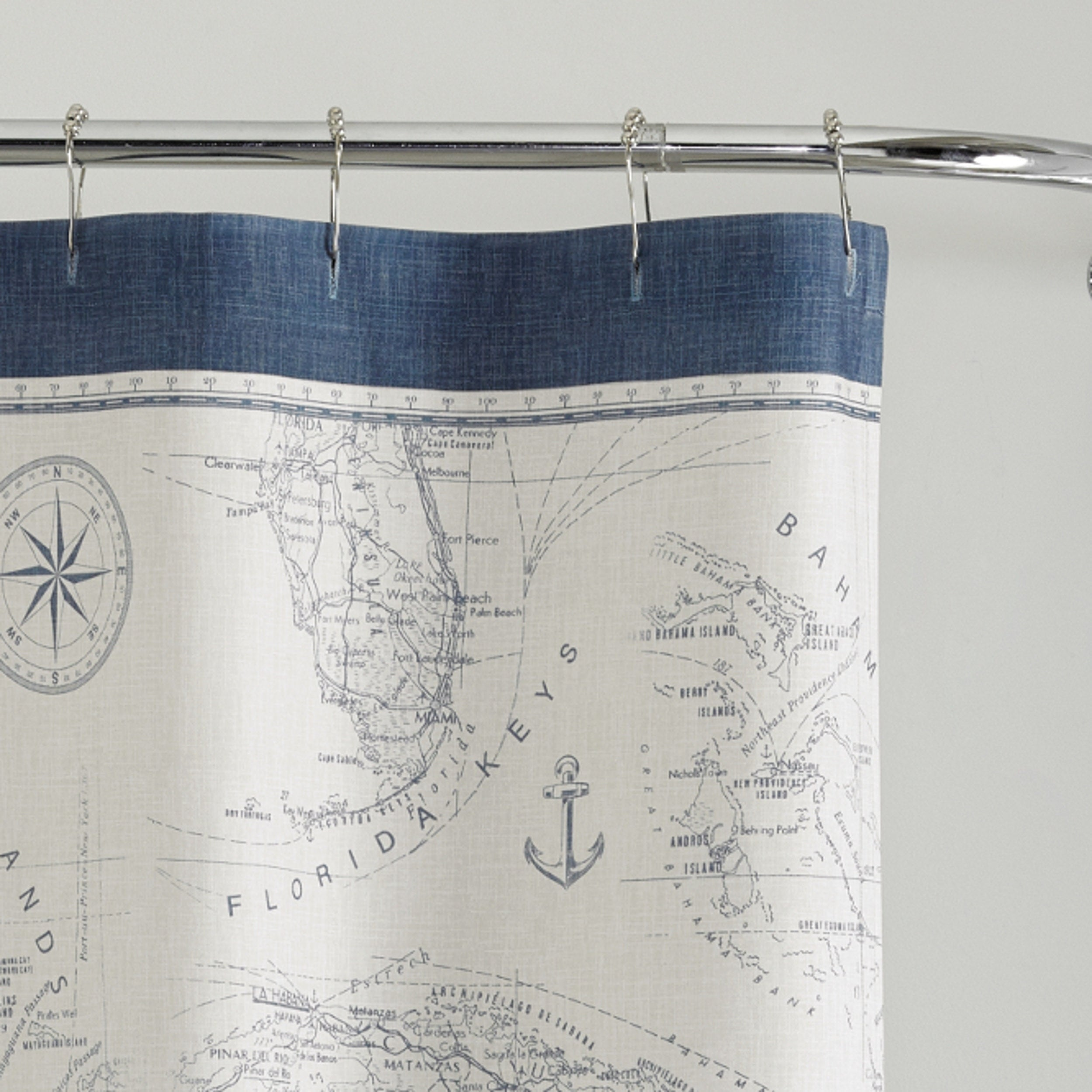 Shop Tommy Bahama Caribbean Sea Shower Curtain
