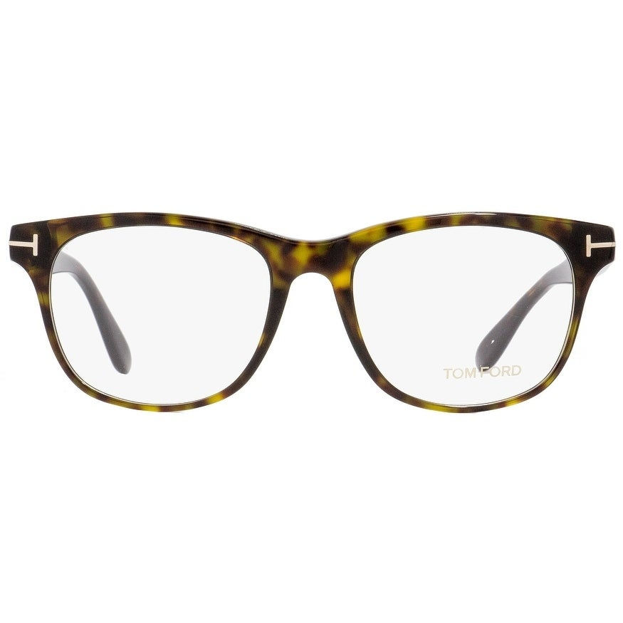 9d1ff43ac51b Shop Tom Ford TF5399 052 Mens Havana Gold 54 mm Eyeglasses - Free Shipping  Today - Overstock - 22524088