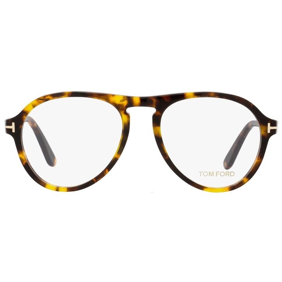 c75dff1b2822 Shop Tom Ford TF5413 052 Mens Vintage Havana Gold 53 mm Eyeglasses -  vintage havana gold - Ships To Canada - Overstock.ca - 22524182