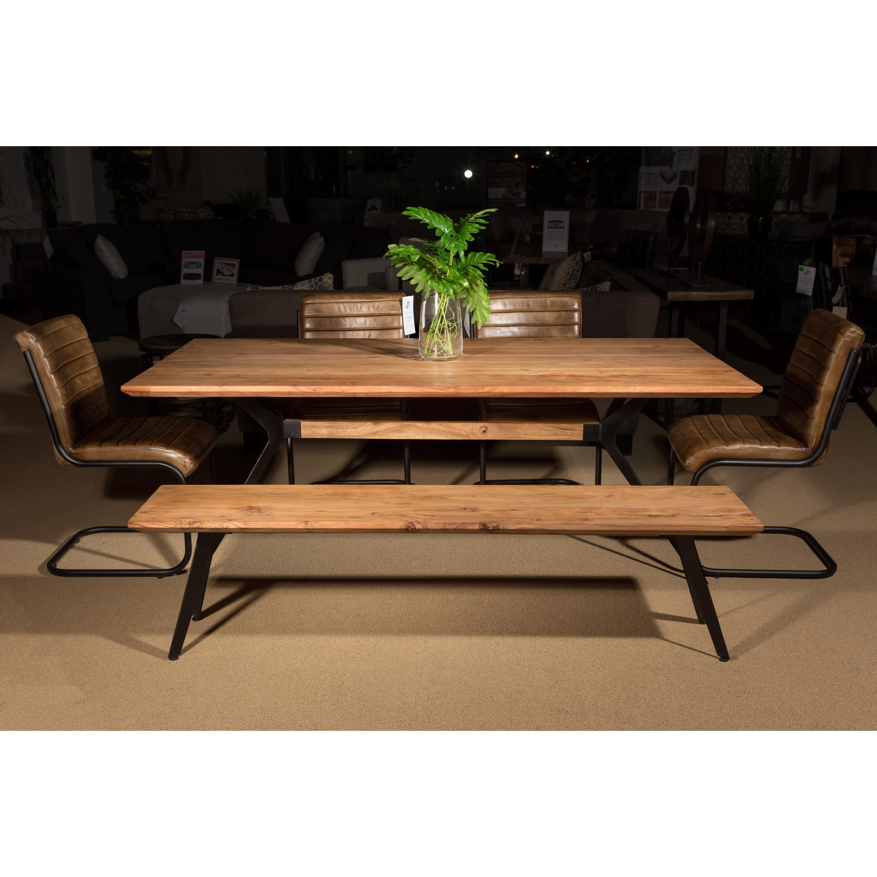 3be6985e6550a Shop Wanderloot Boomerang Mid-century Modern Acacia Wood Handmade Dining  Bench - Free Shipping Today - Overstock - 22530185
