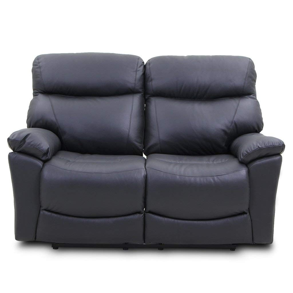 Reclining Sofa Loveseat Made Of Top Grain Leather Retro Style On Free Shipping Today 22532807