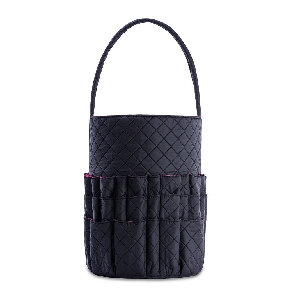 52258ab9922f Shop DeNOA Quilted Knitting and Sewing Storage Bag - Yarn and Needle  Accessory Bucket Craft and Hobby - Free Shipping On Orders Over  45 -  Overstock - ...