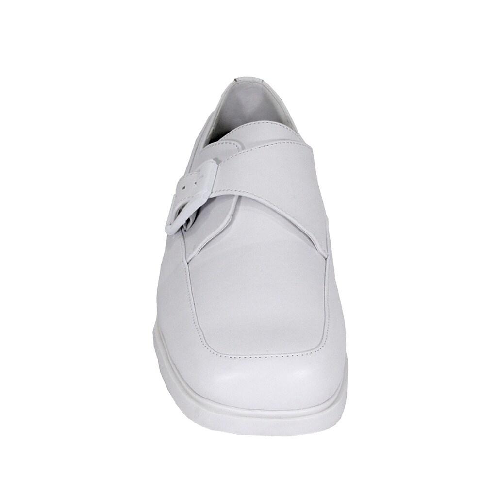 dde55a09cacb3 24 HOUR COMFORT Tom Men Extra Wide Width Adjustable Buckle Shoes