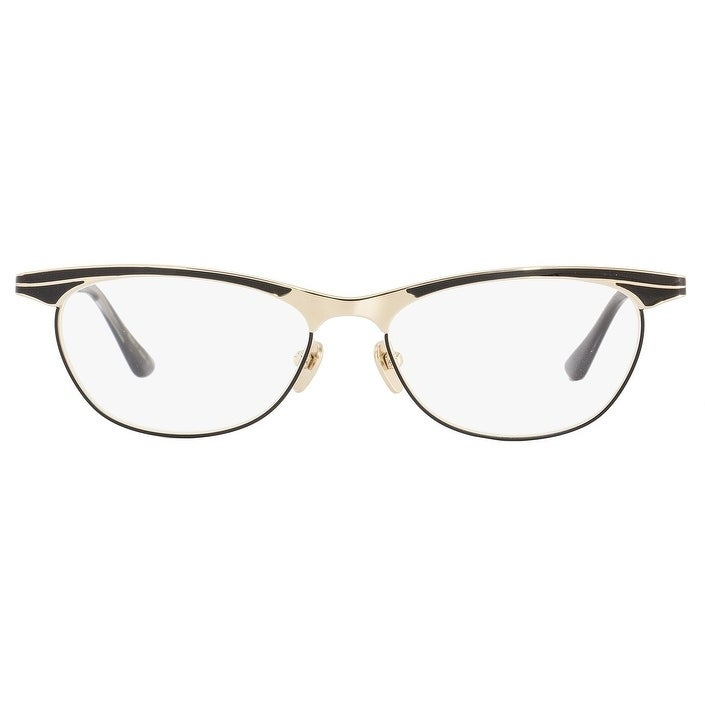 7fd527b94d43 Shop Dita DRX3007 Siren D Mens Gold Black 53 mm Eyeglasses - Free Shipping  Today - Overstock - 22536996