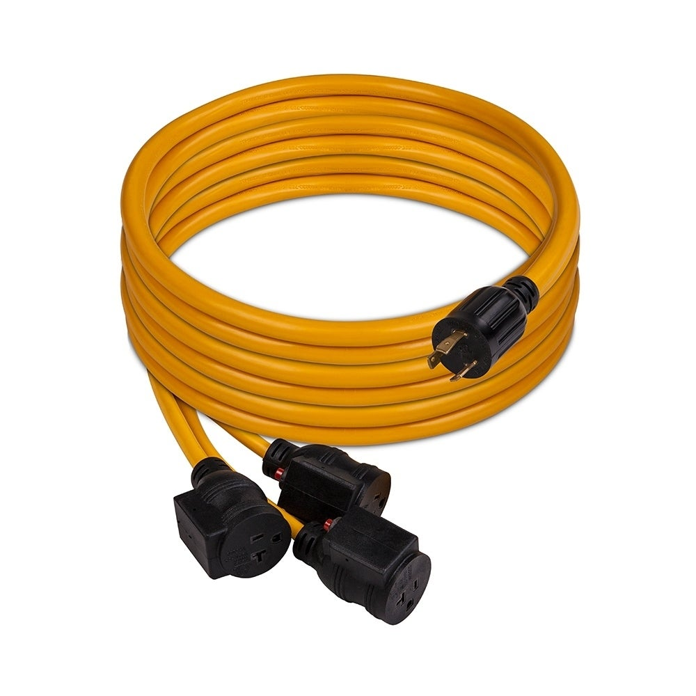 Shop Firman 1105 30 Amp Generator Power Cord L5 30p To 3x5 20r Wiring Free Shipping Today 22537669