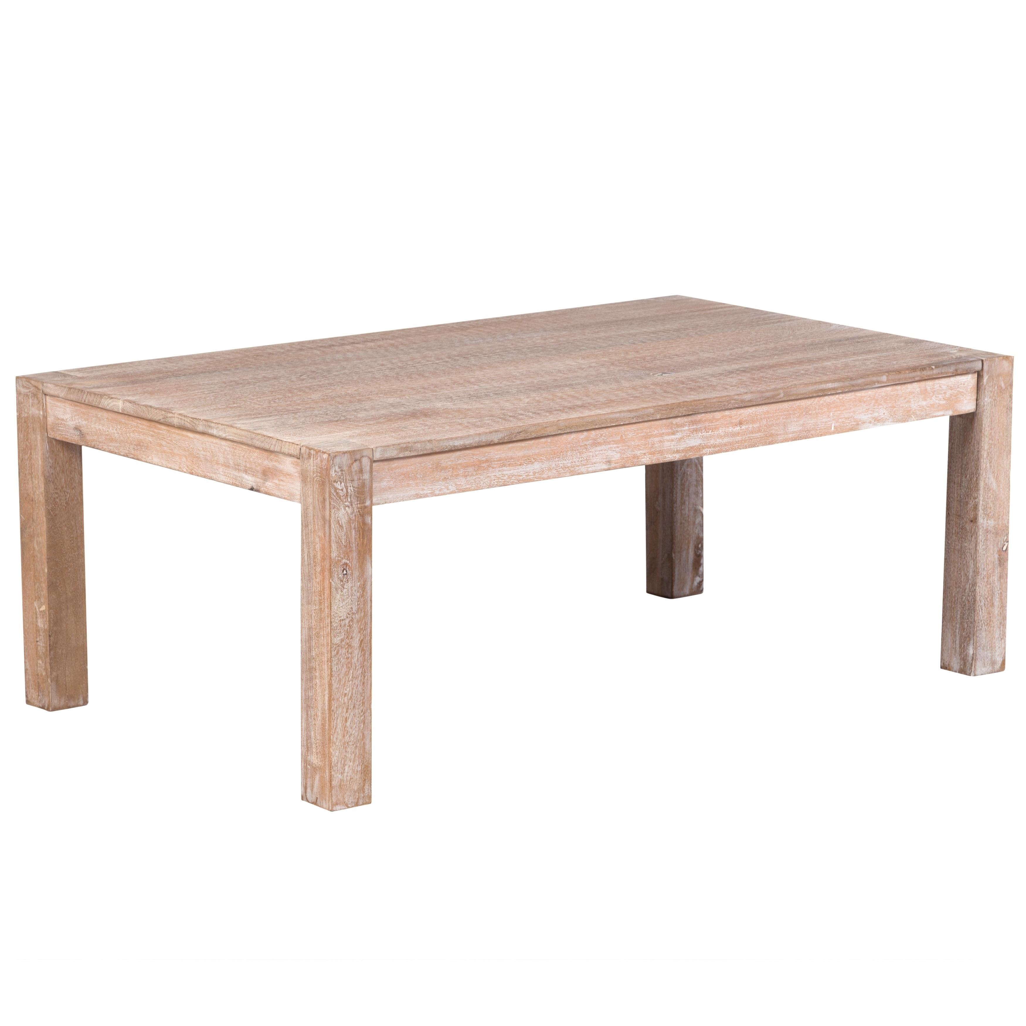 Wanderloot Manhattan White Wash Mango Wood Handmade Shabby Chic Coffee Table On Free Shipping Today 22538284