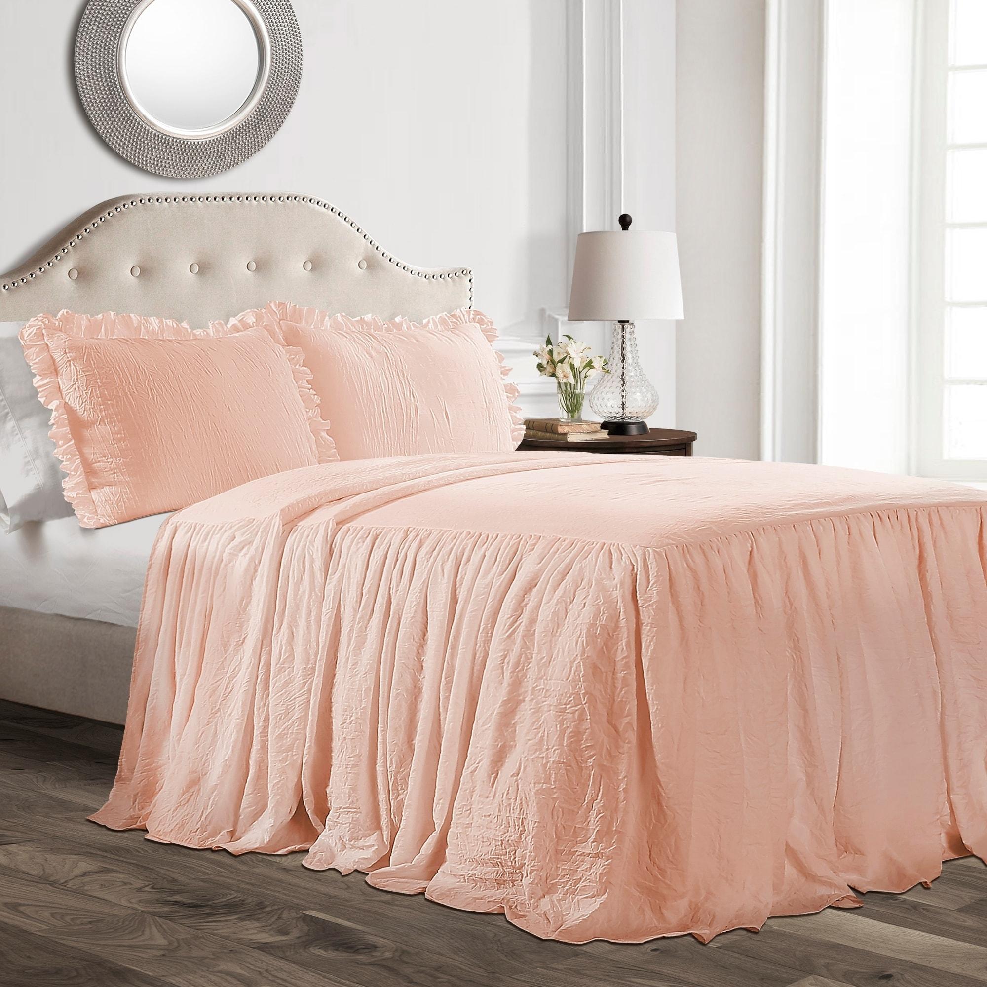 Lush Decor Ruffle Skirt Bedspread Set On Free Shipping Today 22543761