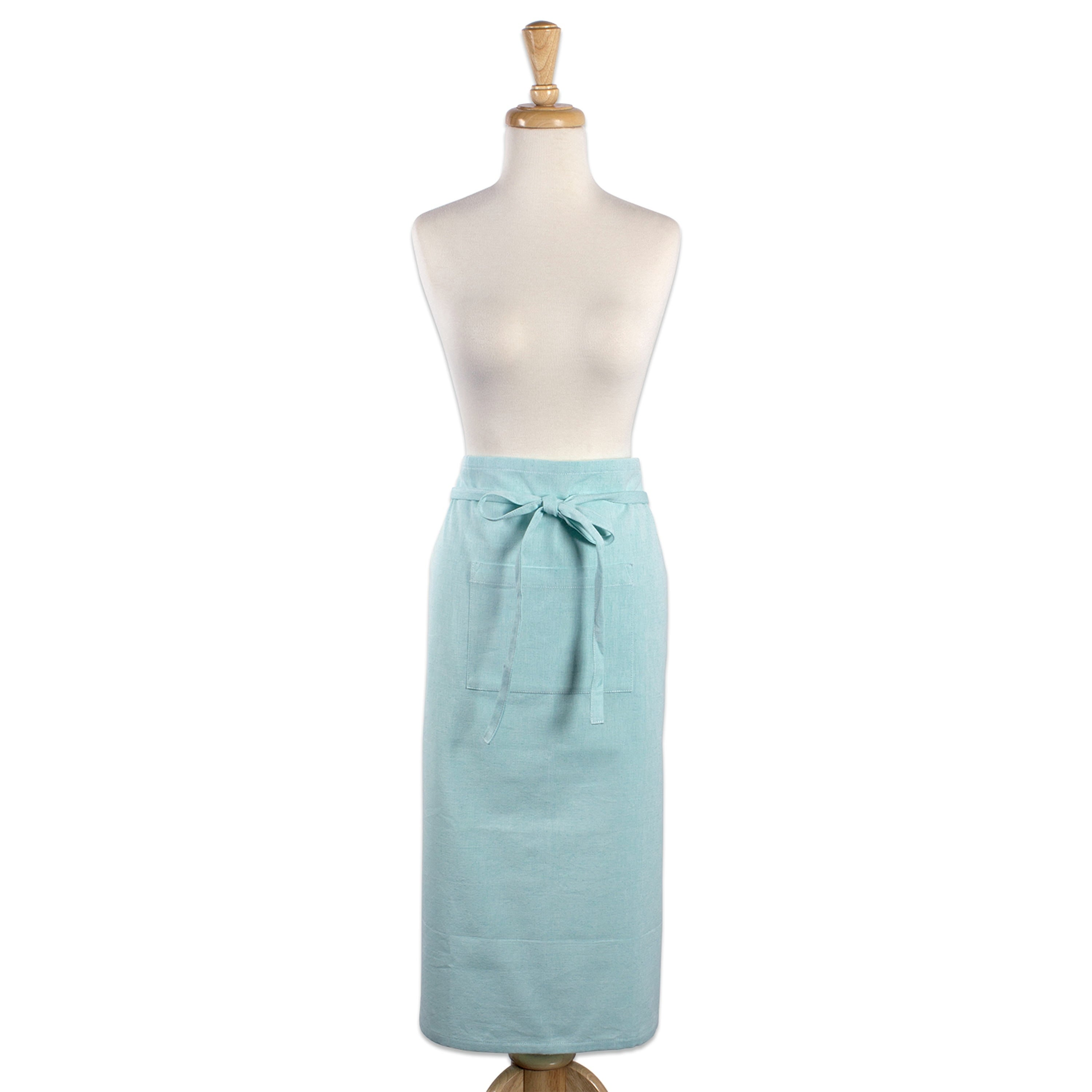 Shop Design Imports Solid Cambray Bistro Kitchen Apron - Free ...