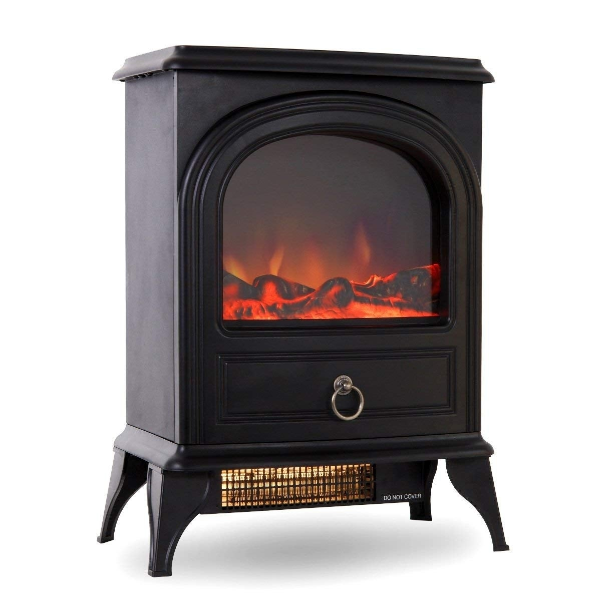 Shop Valuxhome 22 750w 1500w Free Standing Electric Fireplace
