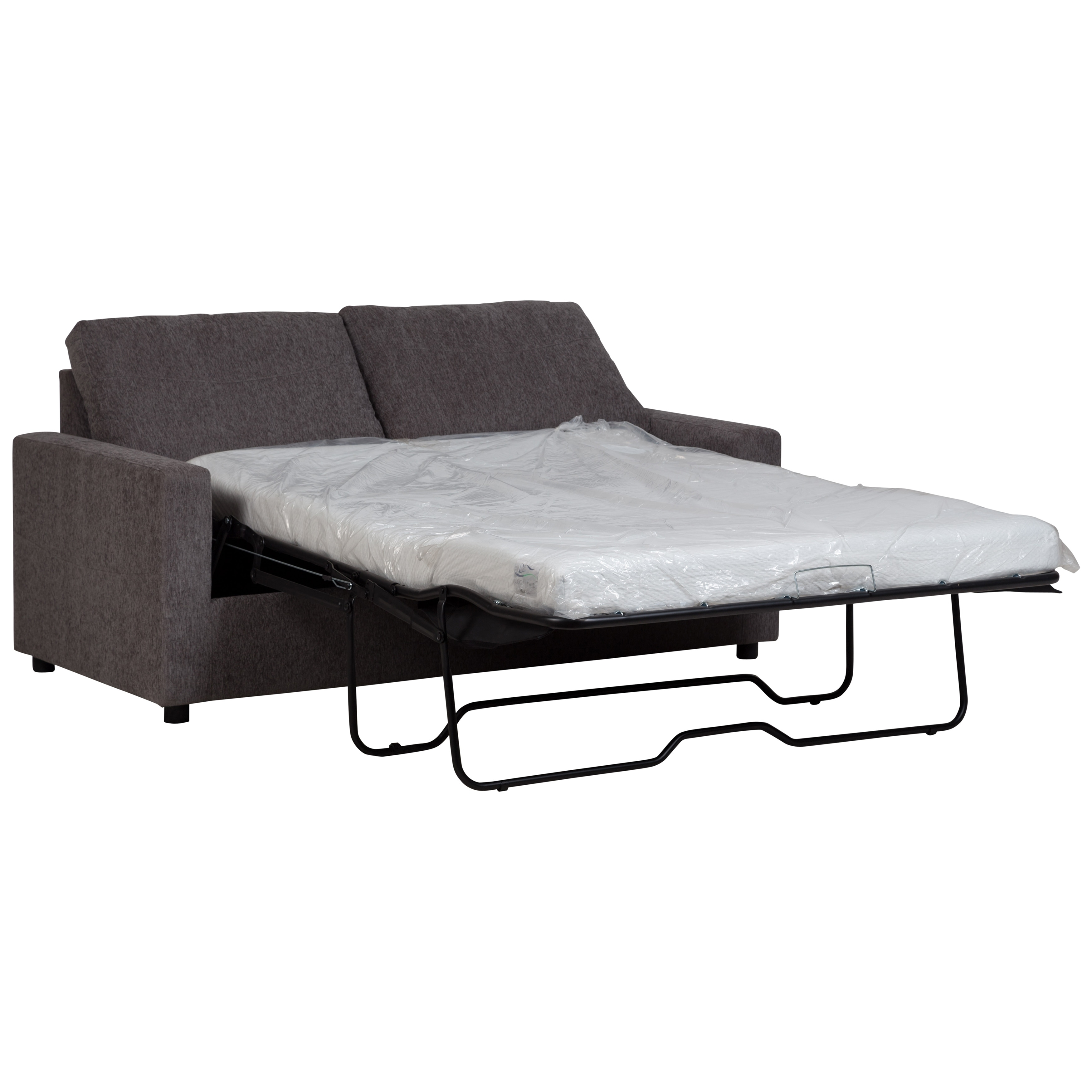 Porter Designs Cindy Grey Upholstered Memory Foam Queen Size Sofa Bed Free Shipping Today 28182081