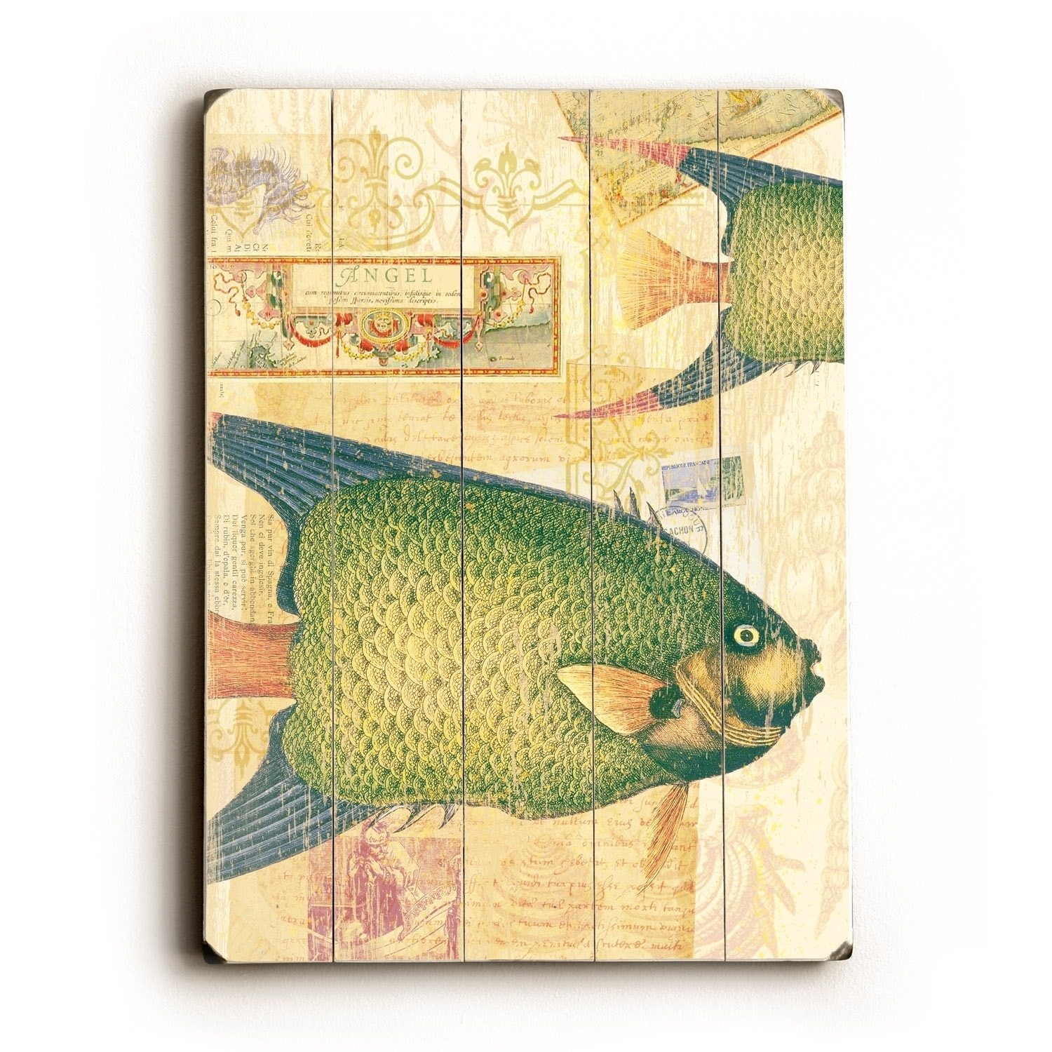 Fish - Planked Wood Wall Decor by Cory Steffen - Free Shipping On ...