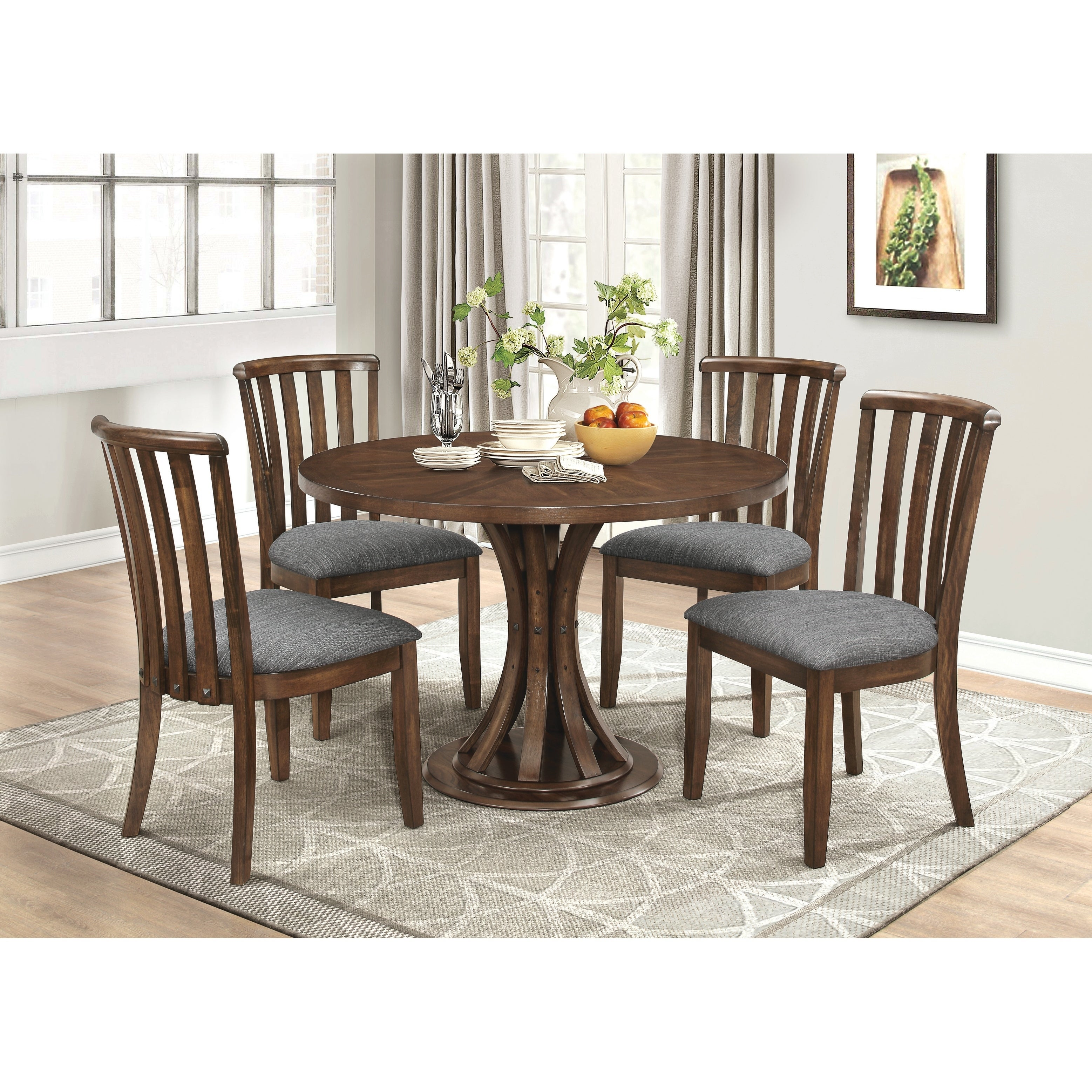 Shop prescott casual vintage cinnamon dining table brown on sale free shipping today overstock com 22579159