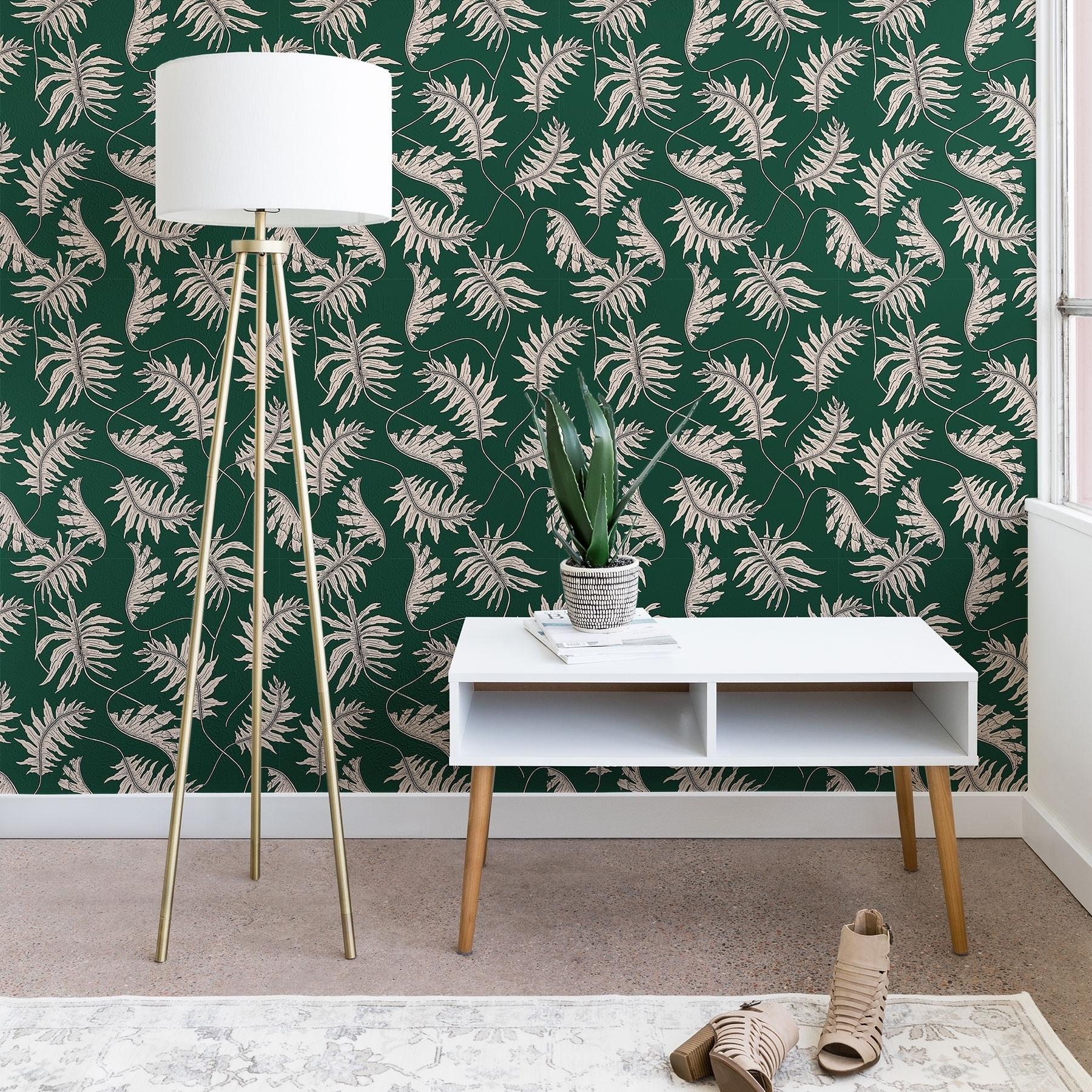 Holli Zollinger Urban Jungle Palm Wallpaper Overstock 22579519
