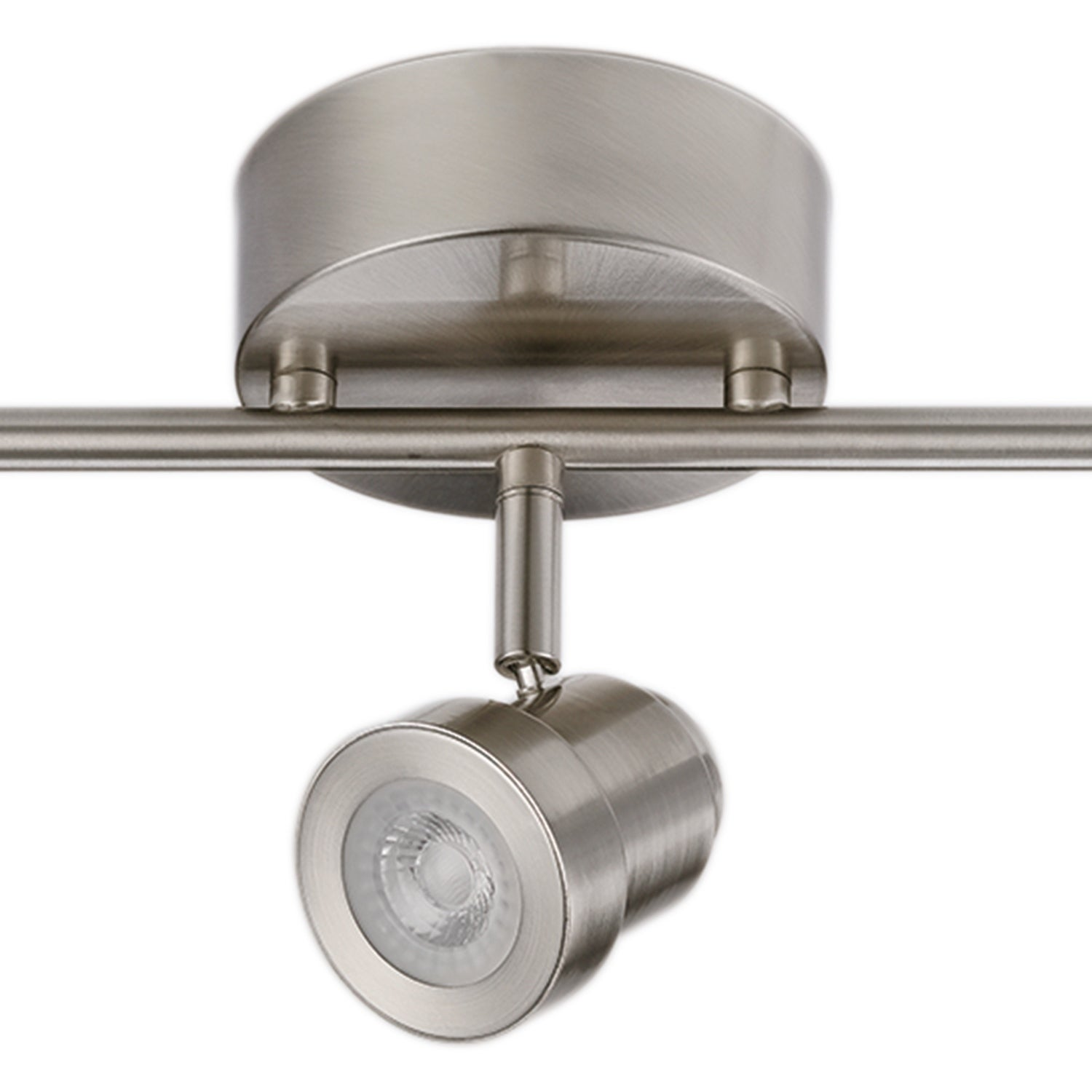 Hunter 3 Light Integrated Led Track Lighting Brushed Nickel Free Shipping Today 22591935