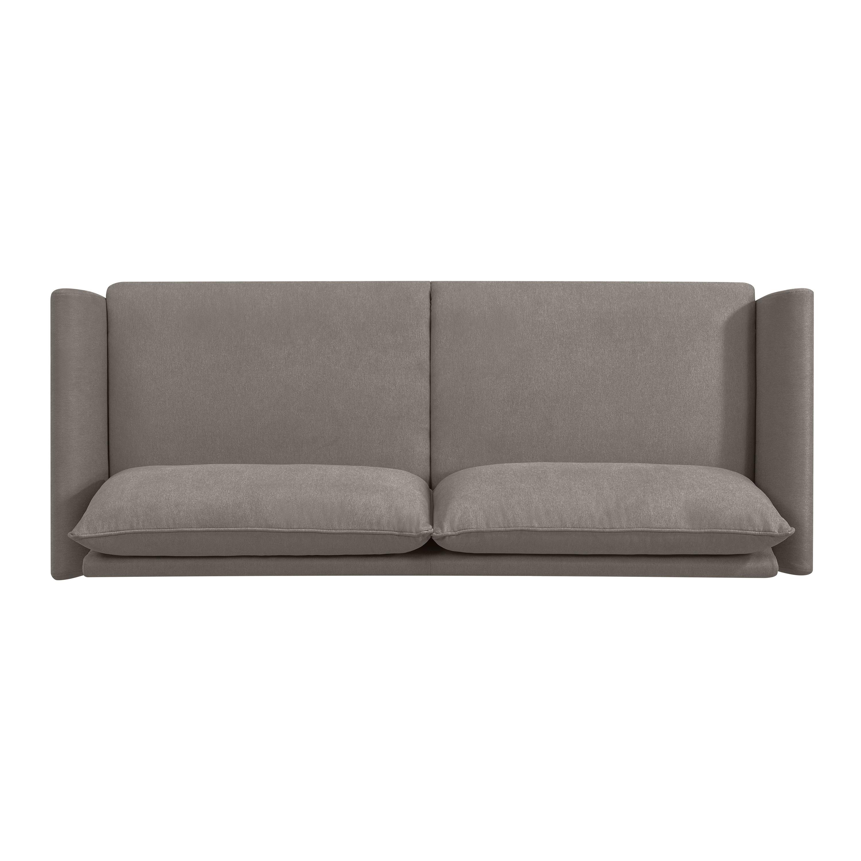 Shop Handy Living Denver Smoke Grey Velvet Sofa   On Sale   Free Shipping  Today   Overstock.com   22612399