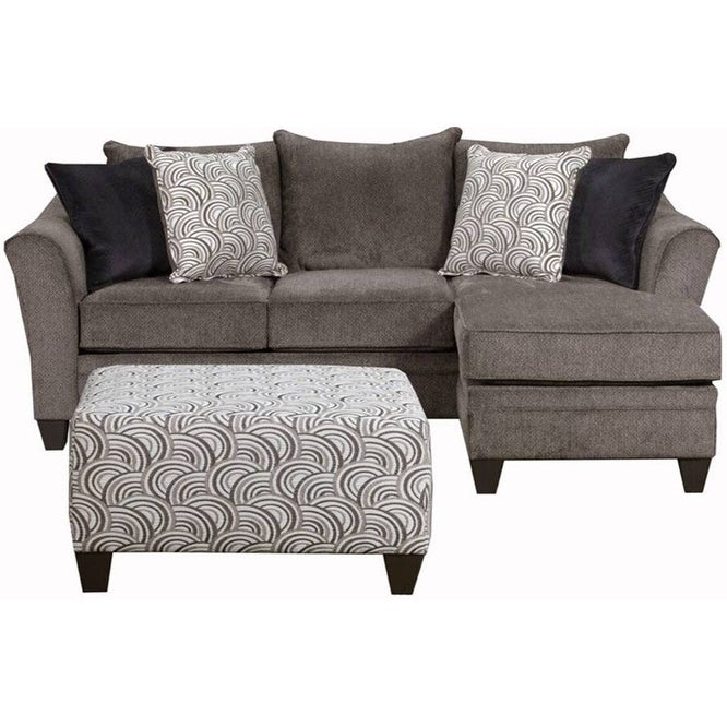 Superb Albany Pewter Sofa Chaise Baci Living Room Ibusinesslaw Wood Chair Design Ideas Ibusinesslaworg