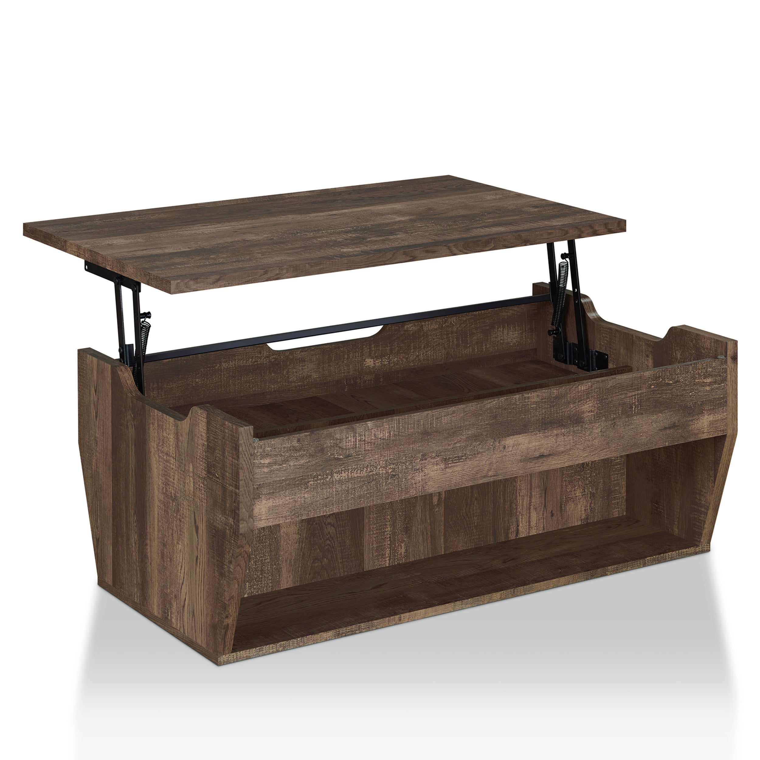 Oak Coffee Table Caring And Maintenance Tips Shop Jameson Rustic Reclaimed Oak Lift-top Coffee Table by FOA - On Sale -  Free Shipping Today - Overstock - 22648760