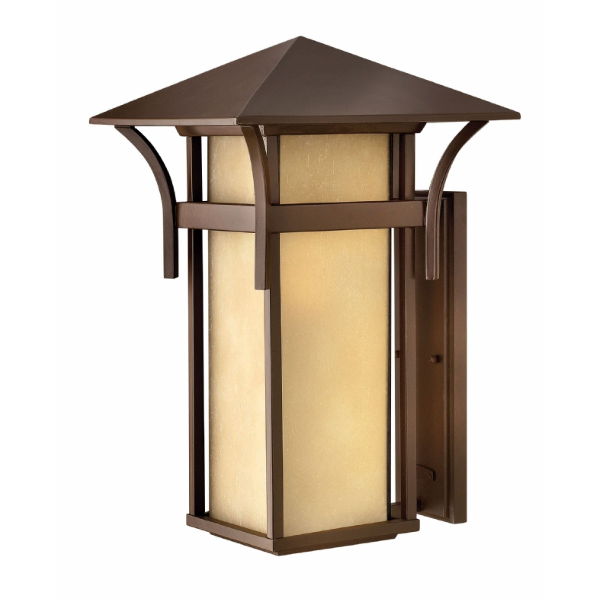 Shop Hinkley Harbor LED Outdoor Wall Mount in Anchor Bronze - Free ...