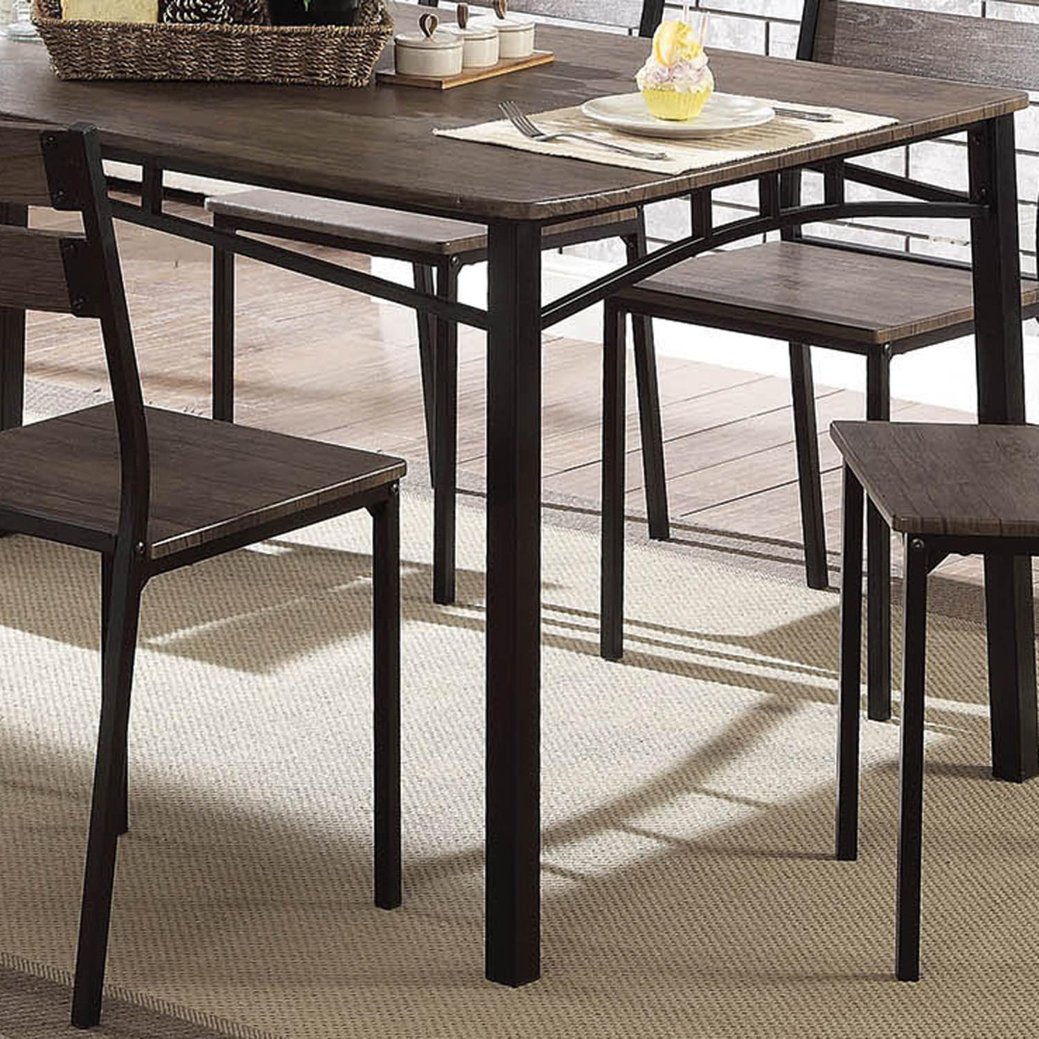 Furniture Of America Patton 7 Piece Rustic Modern Farmhouse Dining Table Set Free Shipping Today 22671341