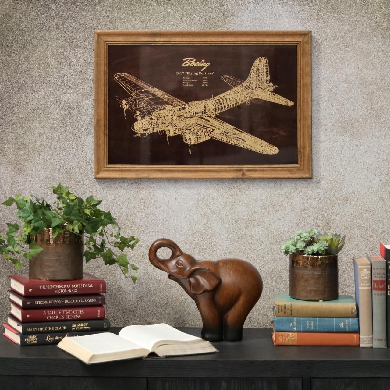 d648c15d4ec Shop UTC57804  Wood Rectangle Wall Art of