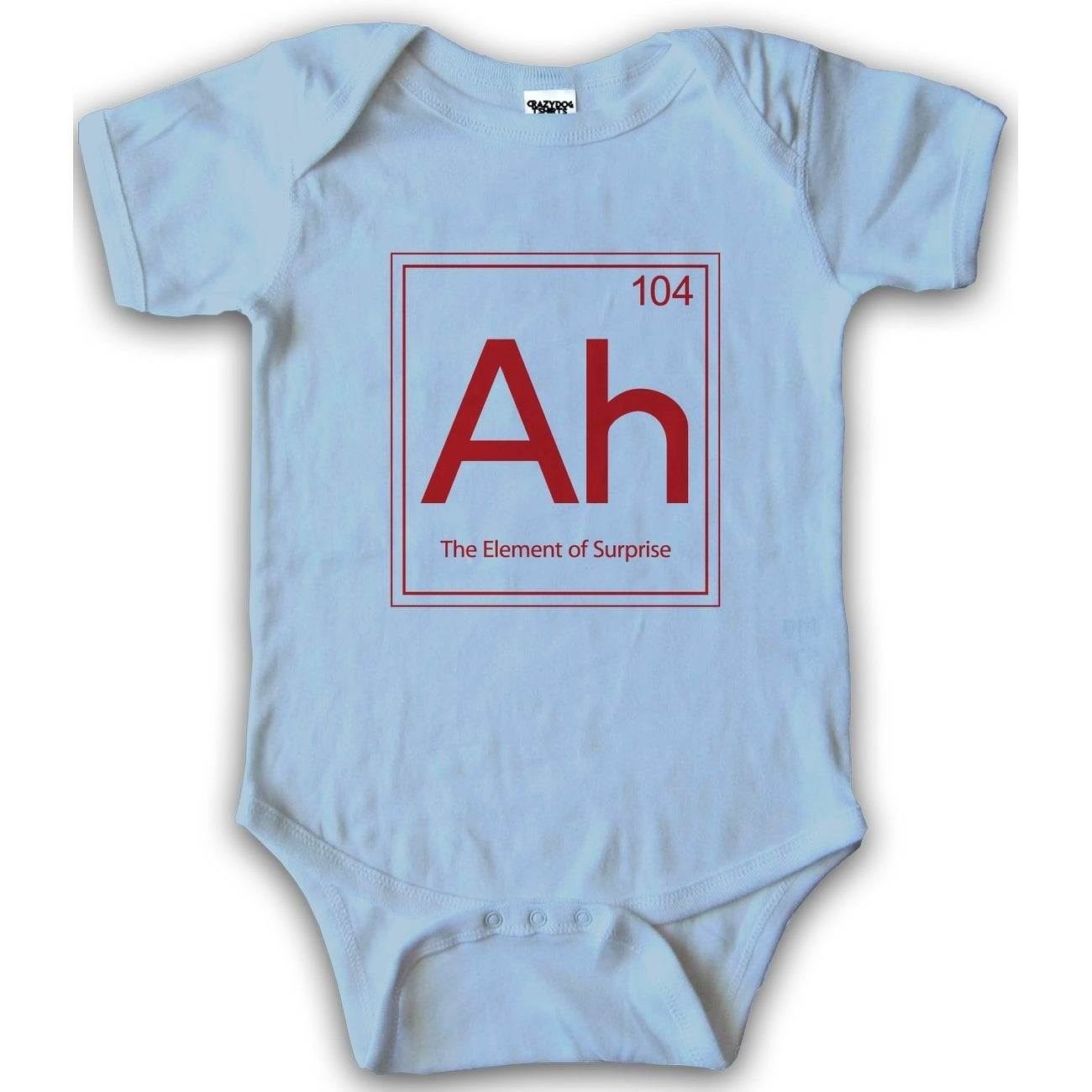 Shop The Element Of Surprise Baby Creeper One Piece Funny Periodic