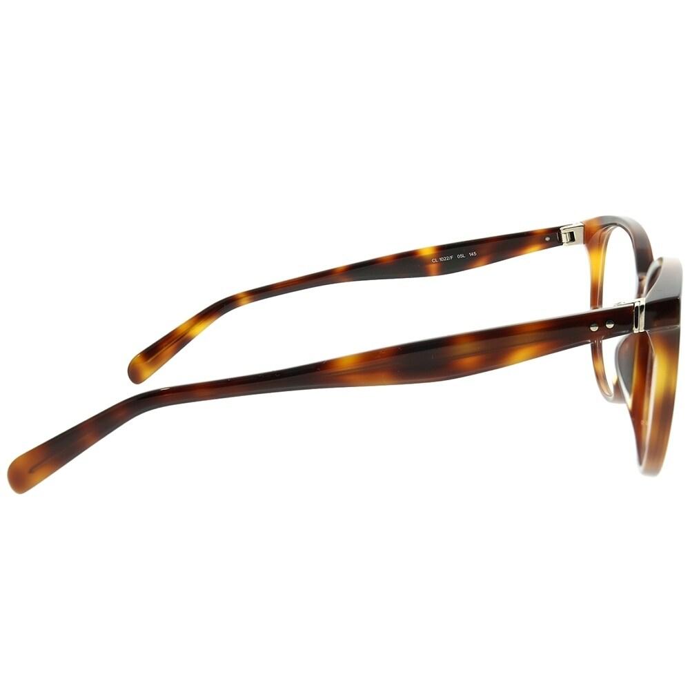 aeb96e4bf84 Shop Celine Round CL 1022 F Asian Fit 05L Unisex Havana Frame Eyeglasses -  On Sale - Ships To Canada - Overstock - 22713447