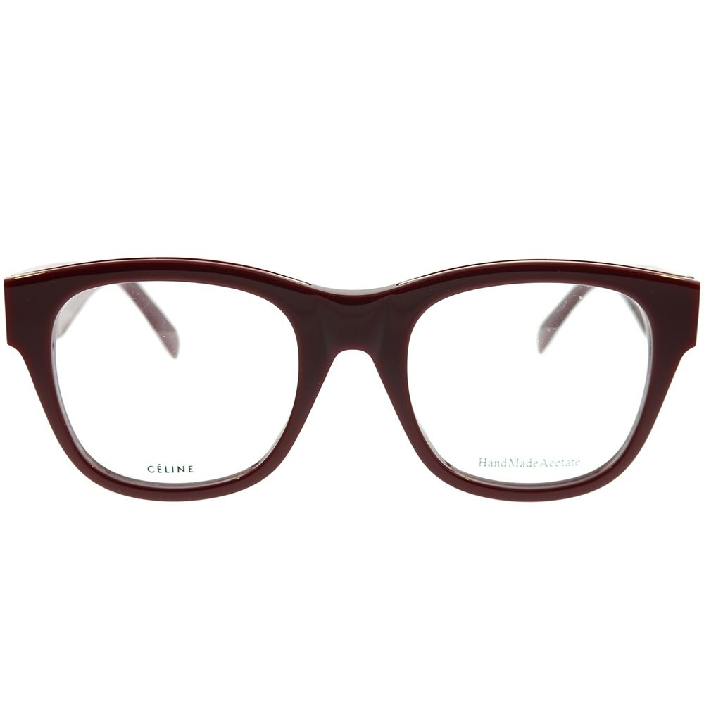 d76f1c470ce Shop Celine Square CL 41364 Strat Brow D65 Unisex Burgundy Gold Frame  Eyeglasses - Free Shipping Today - Overstock - 22713461