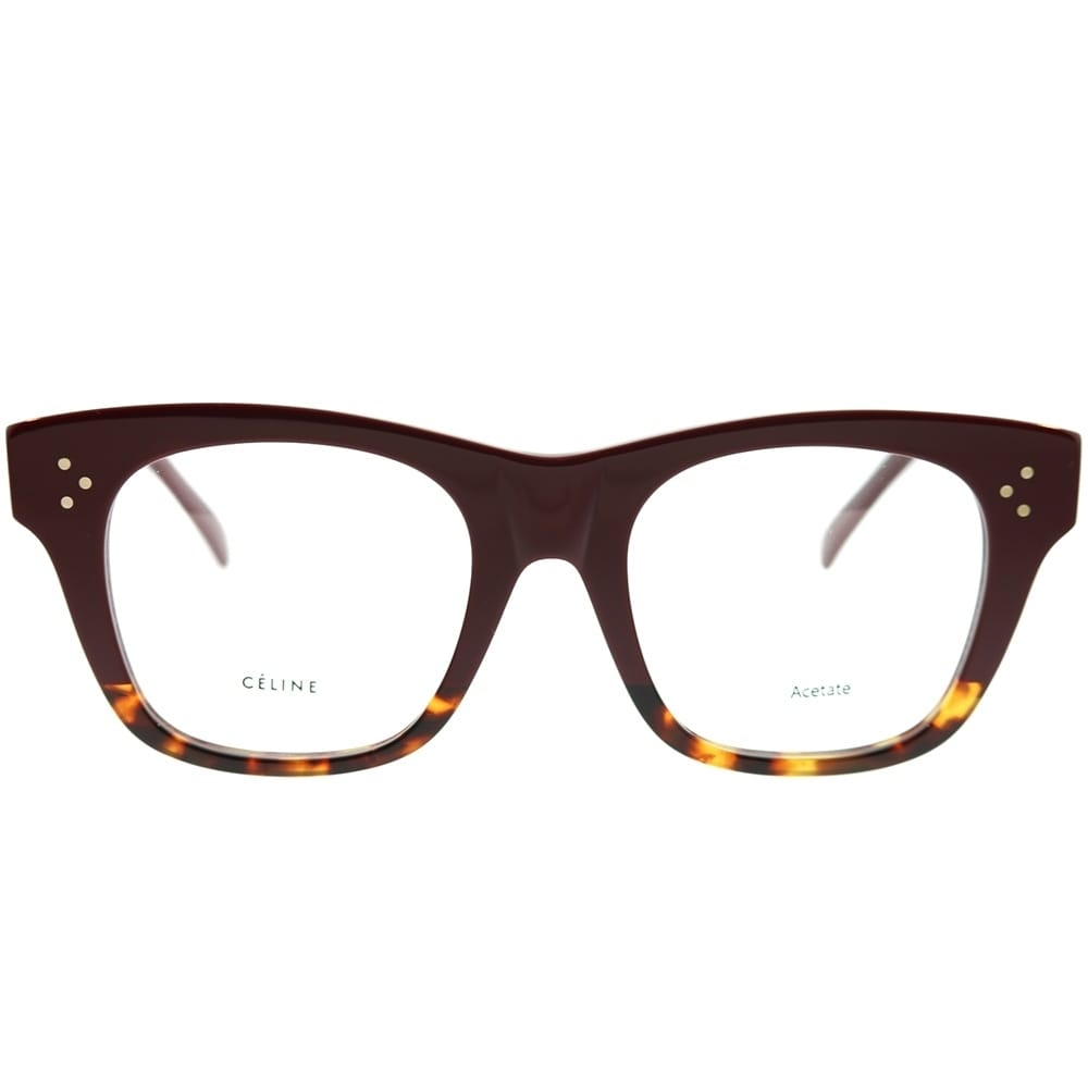 9b6b26bbfb6 Shop Celine Square CL 41367 F Cathrine Small Asian Fit AEV Unisex Burgundy  Havana Frame Eyeglasses - Ships To Canada - Overstock - 22713463