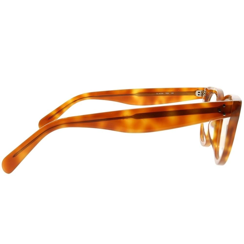 b1cf7824f575 Shop Celine Cat-Eye CL 41379 Anna TEN Women Light Havana Frame Eyeglasses -  Free Shipping Today - Overstock - 22713466